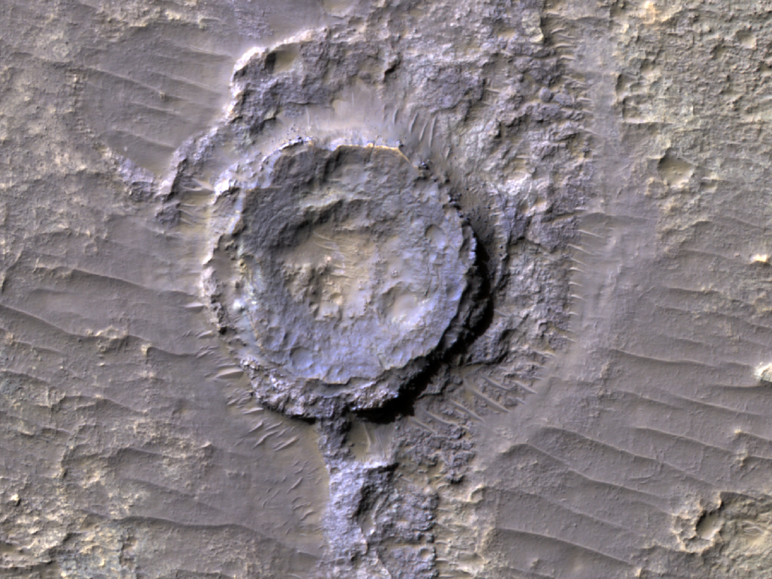 An Inverted Crater