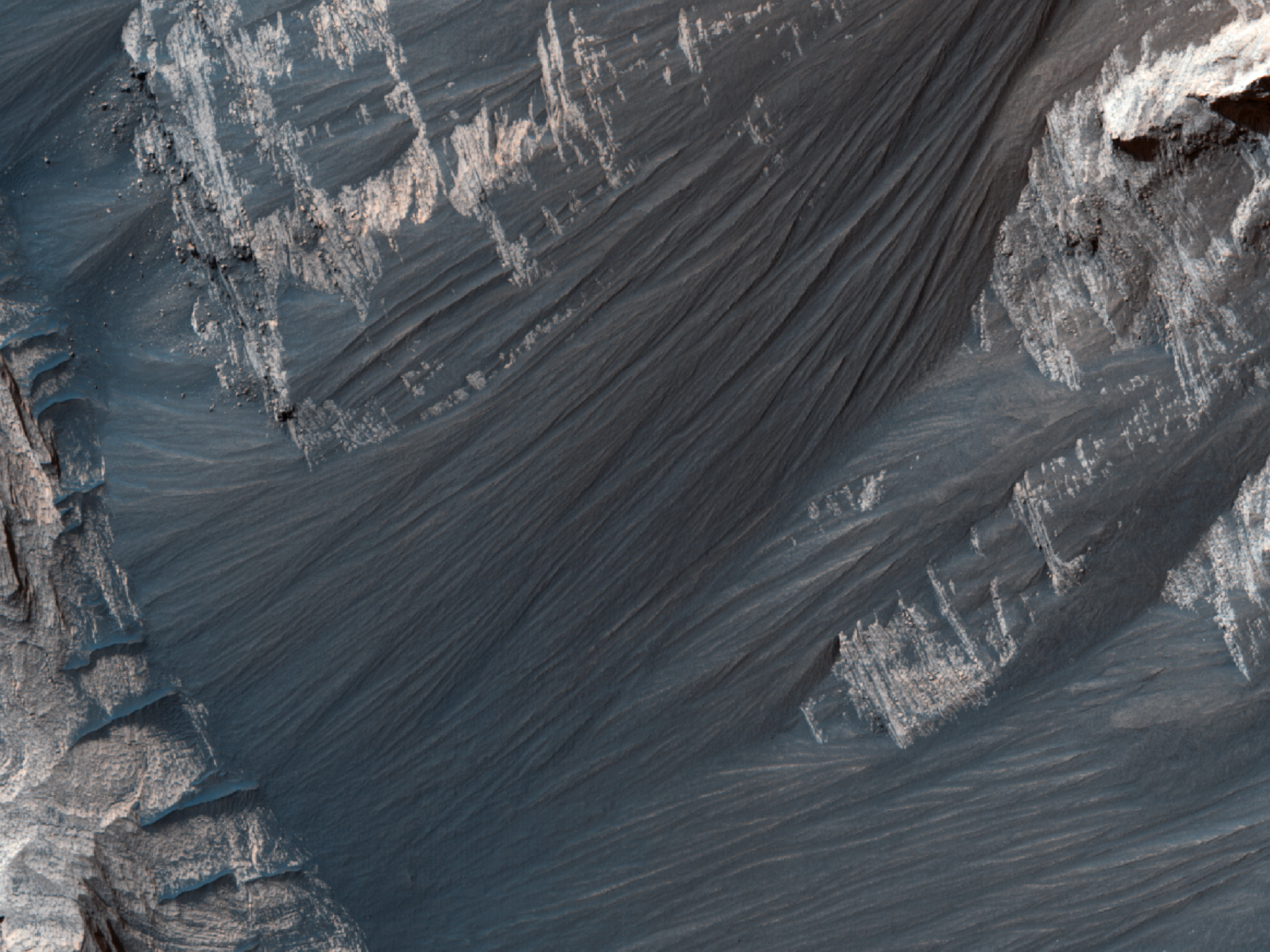 Possible Sulfate Deposits in West Melas Chasma