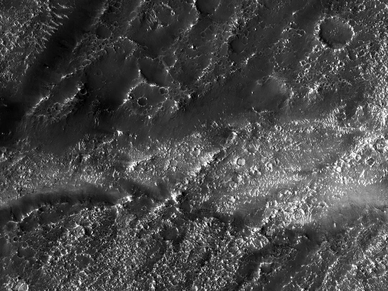 Denfantastiske skjønnheten av Lobo Vallis