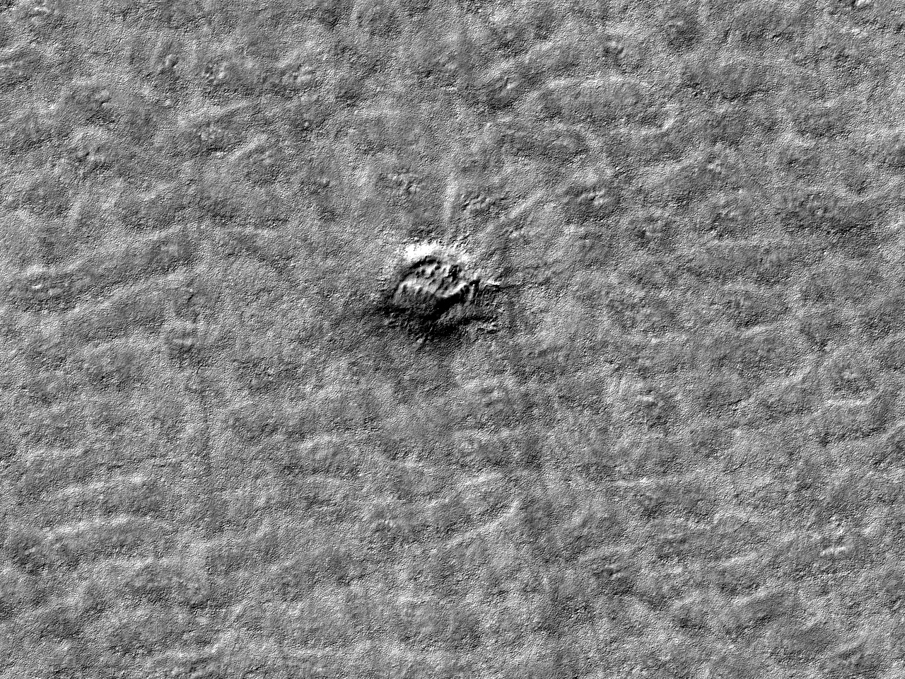 Mulig mindre krater
