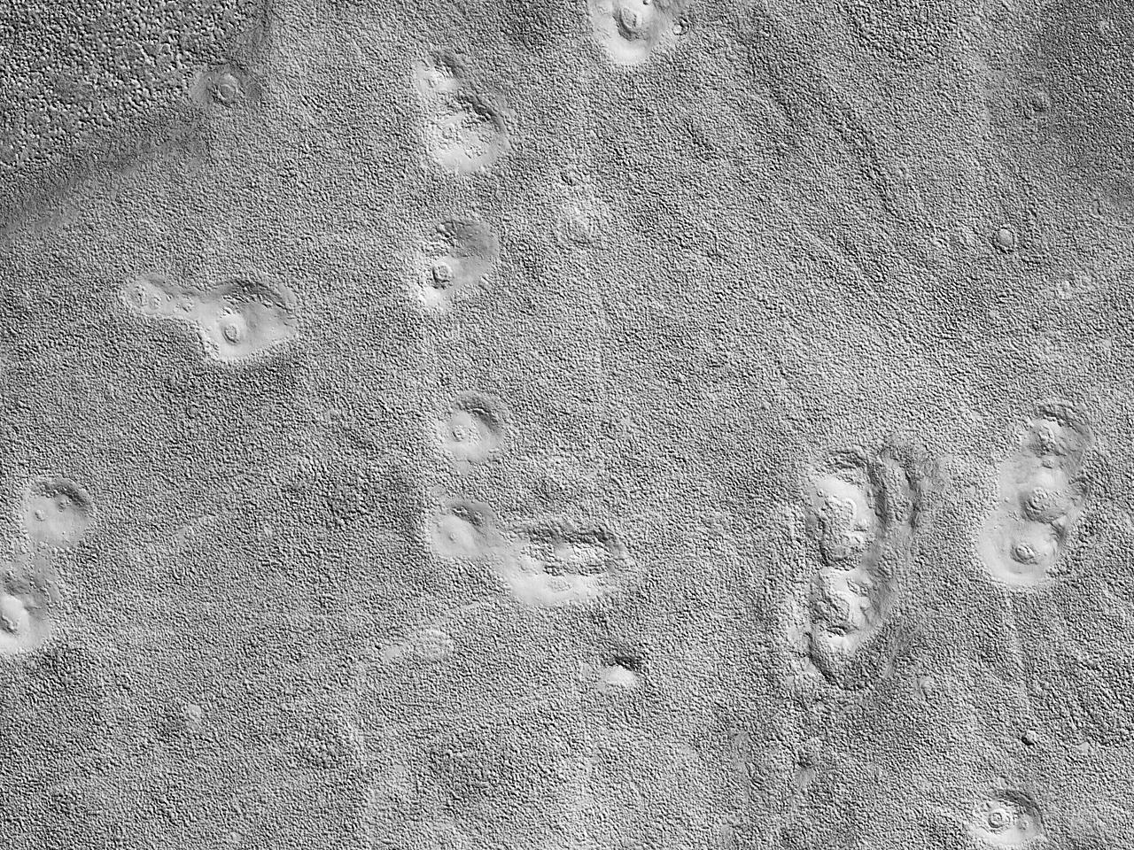 Landformer i Utopia Planitia