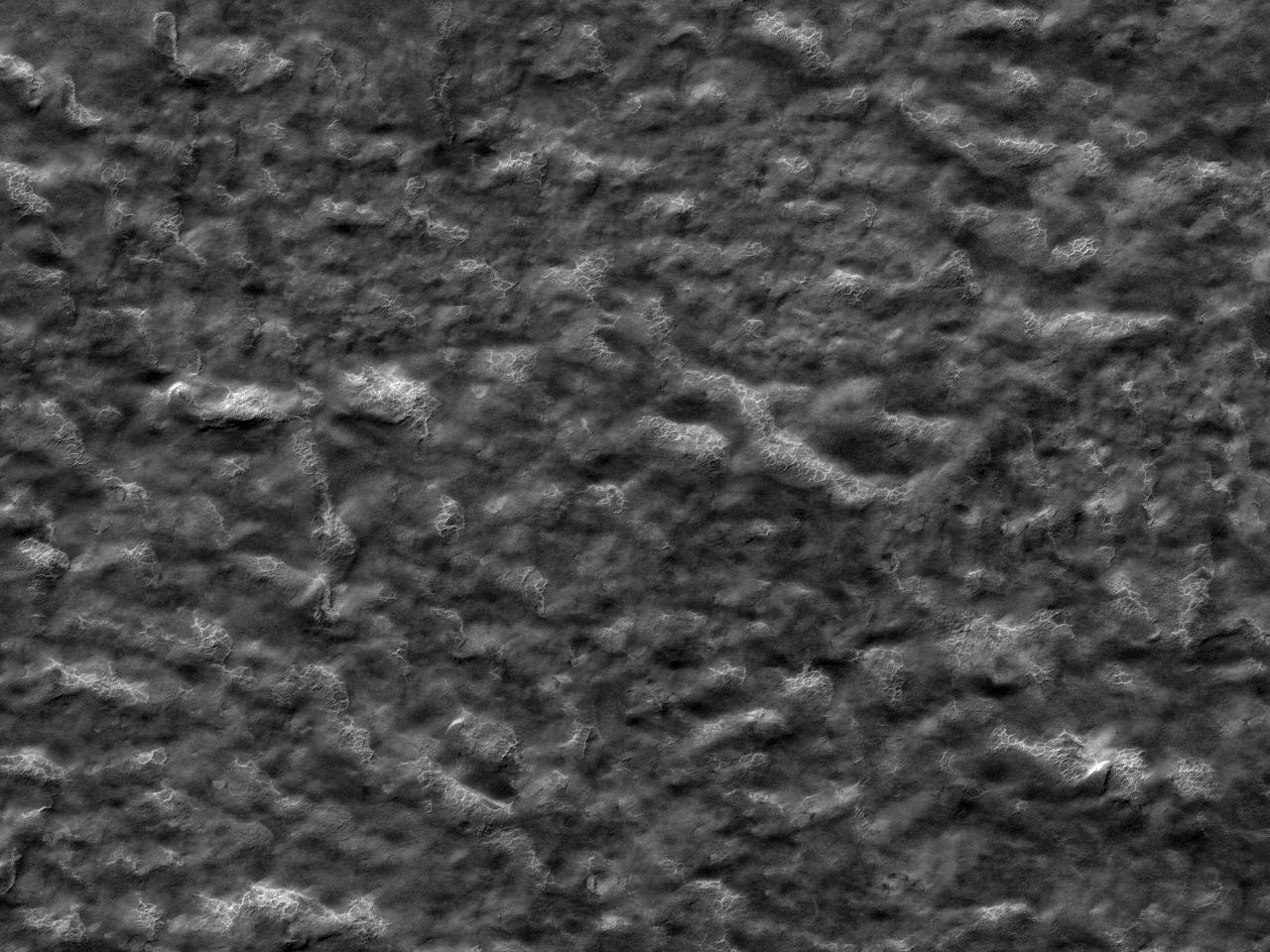 Дно кратера Rayleigh