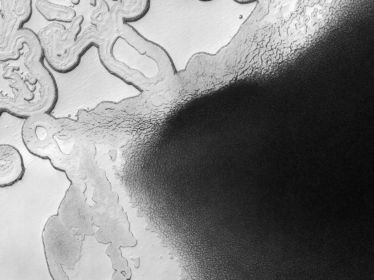 Lagvise avleiringer ved sydpolen