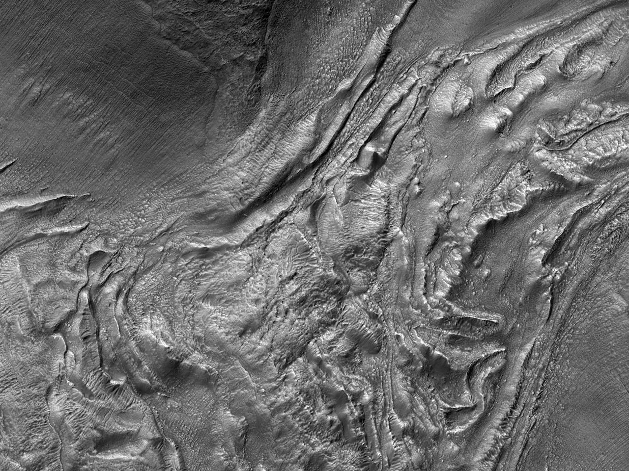 Поиск активного ледникового потока