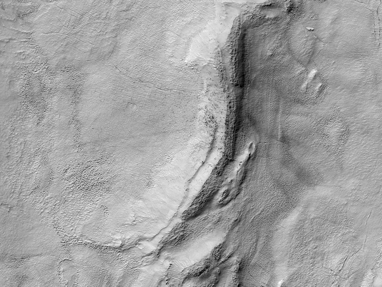 Дно равнины Hellas Planitia