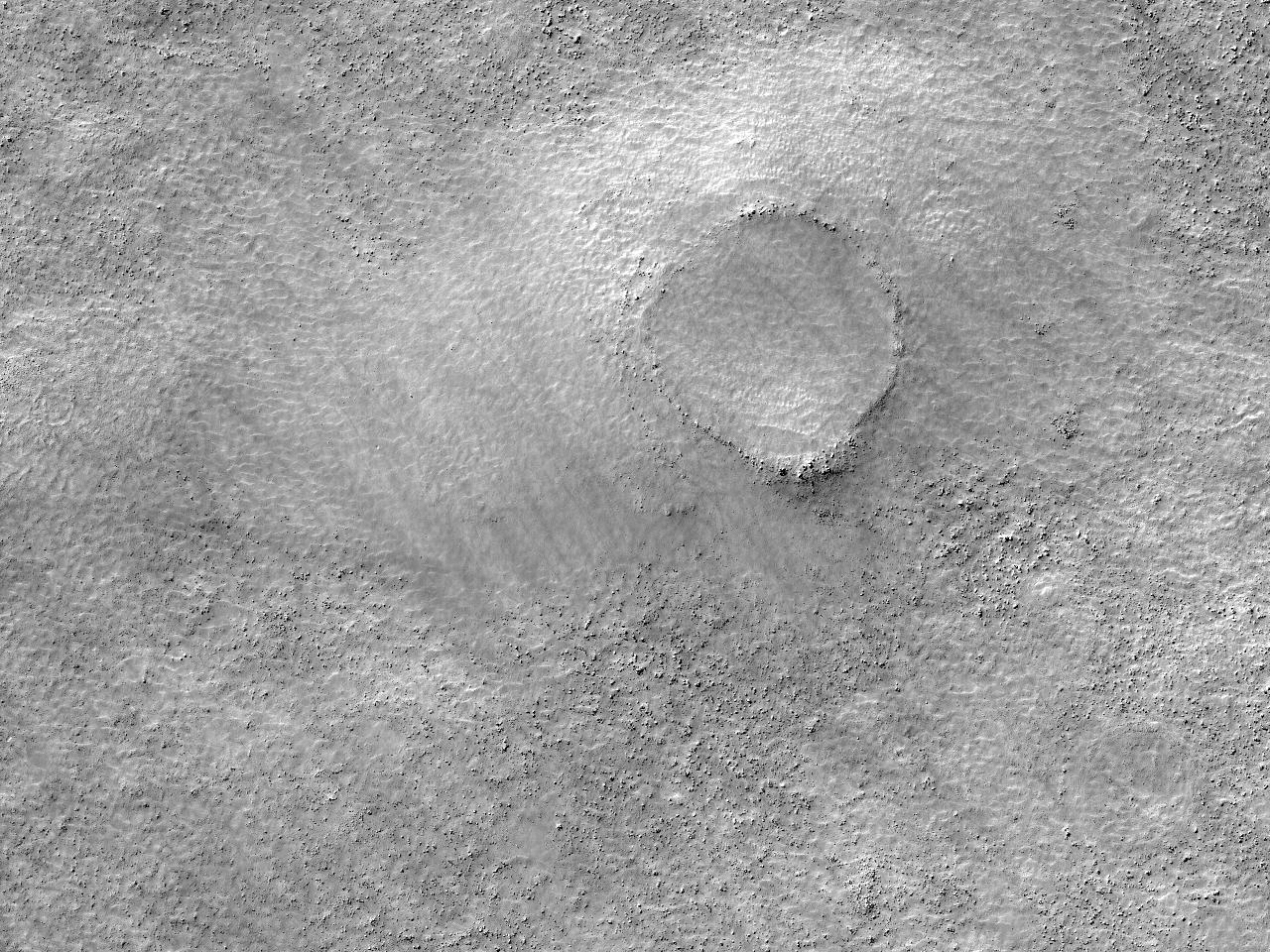 Кратер земли Terra Cimmeria