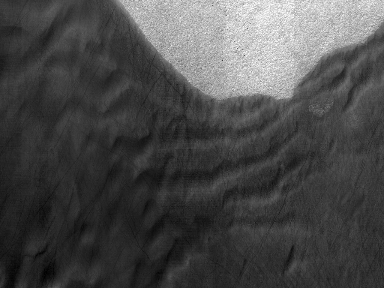 """Dune e tracce di""""diavoli"""" di sabbia"""