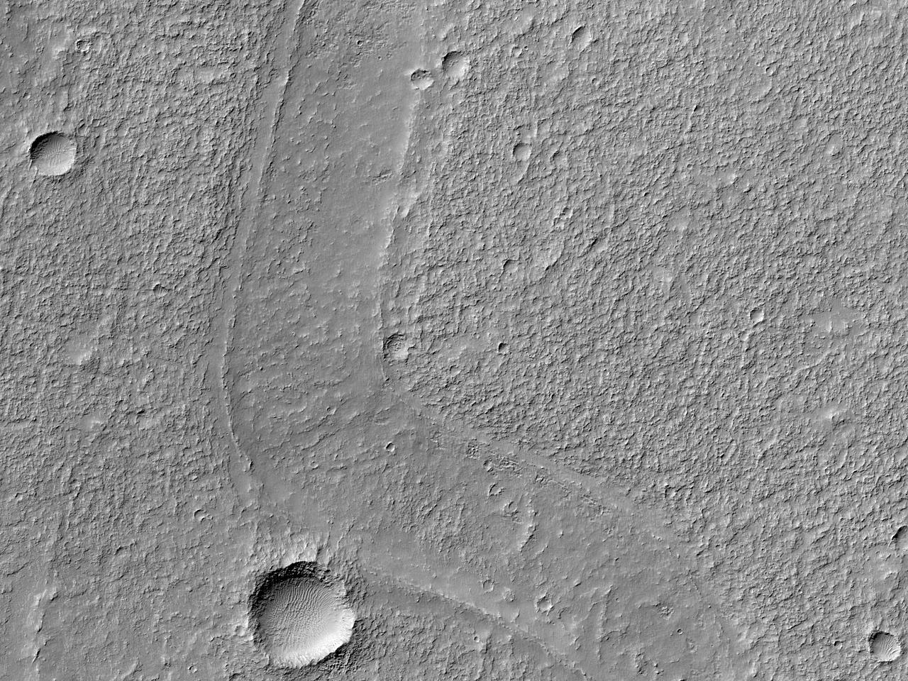 Formațiune interesantă în Terra Sirenum