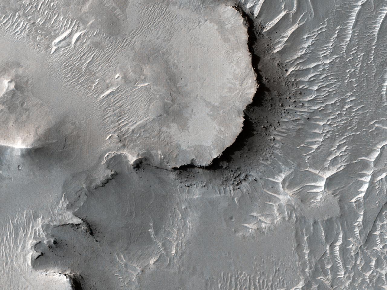 Forme de relief în Arabia Terra