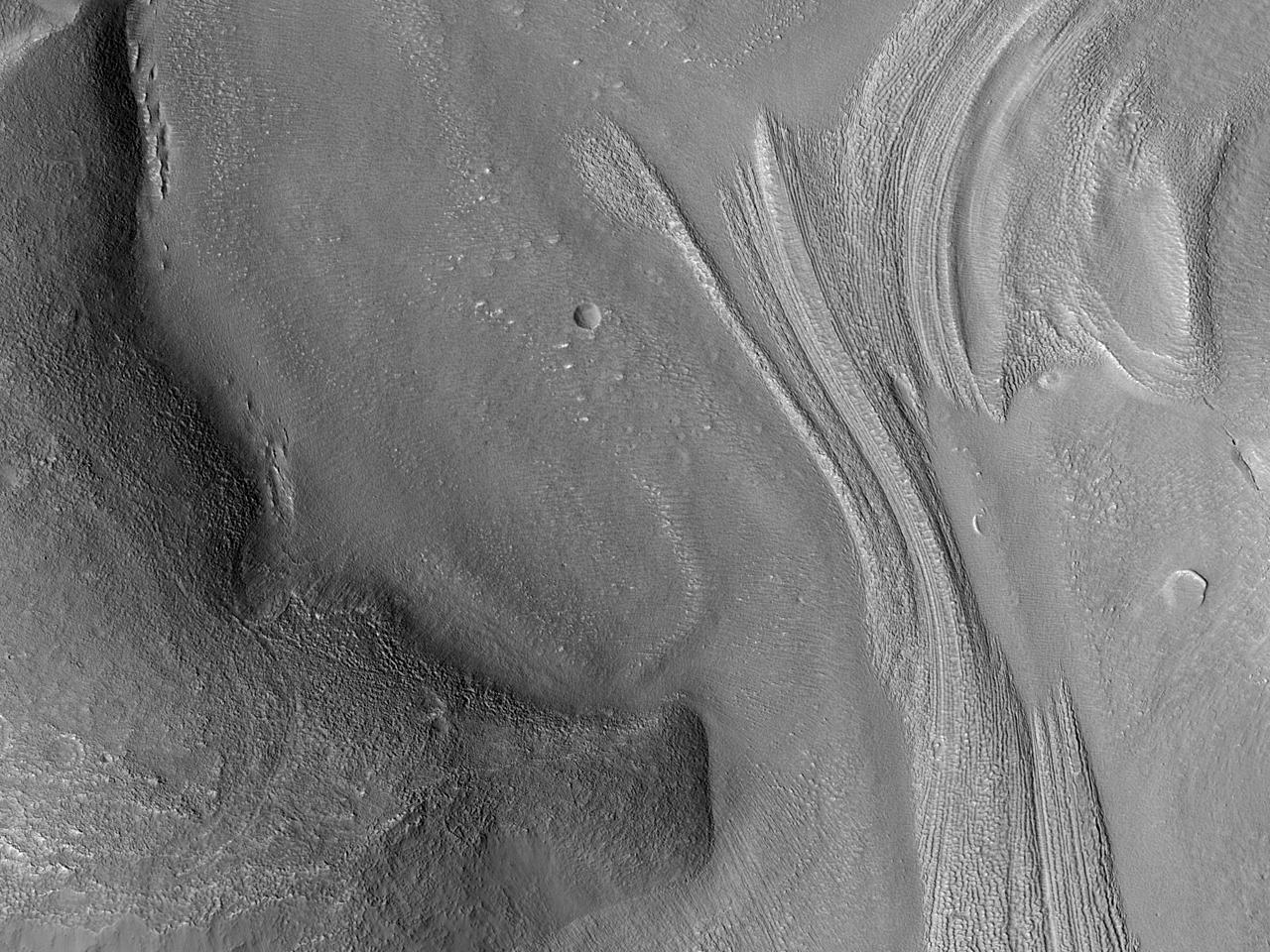 Segnali di un flusso in una piccola valle