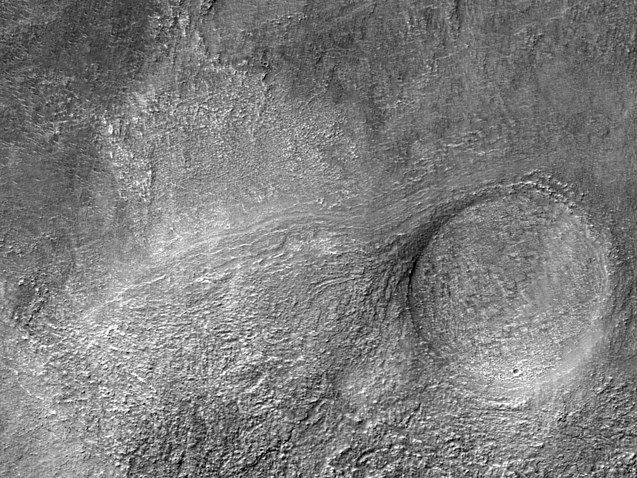 Silika i Hellas Planitia