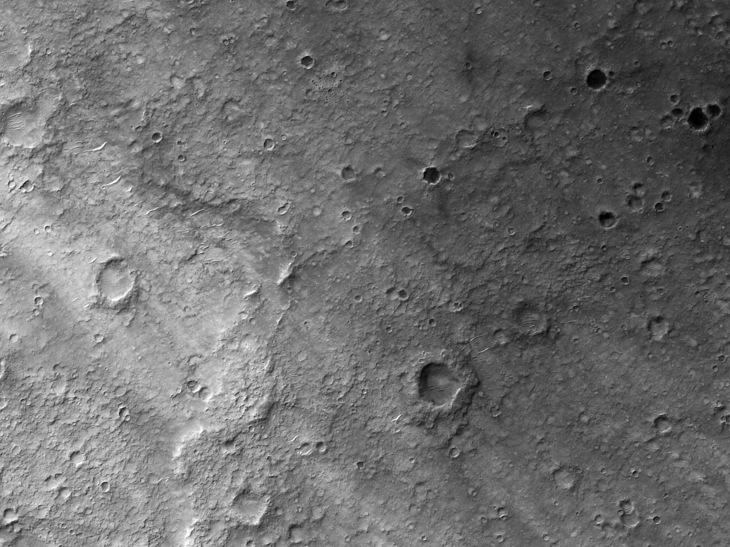 Возможное местопосадки миссии2020 года в кратере Gusev