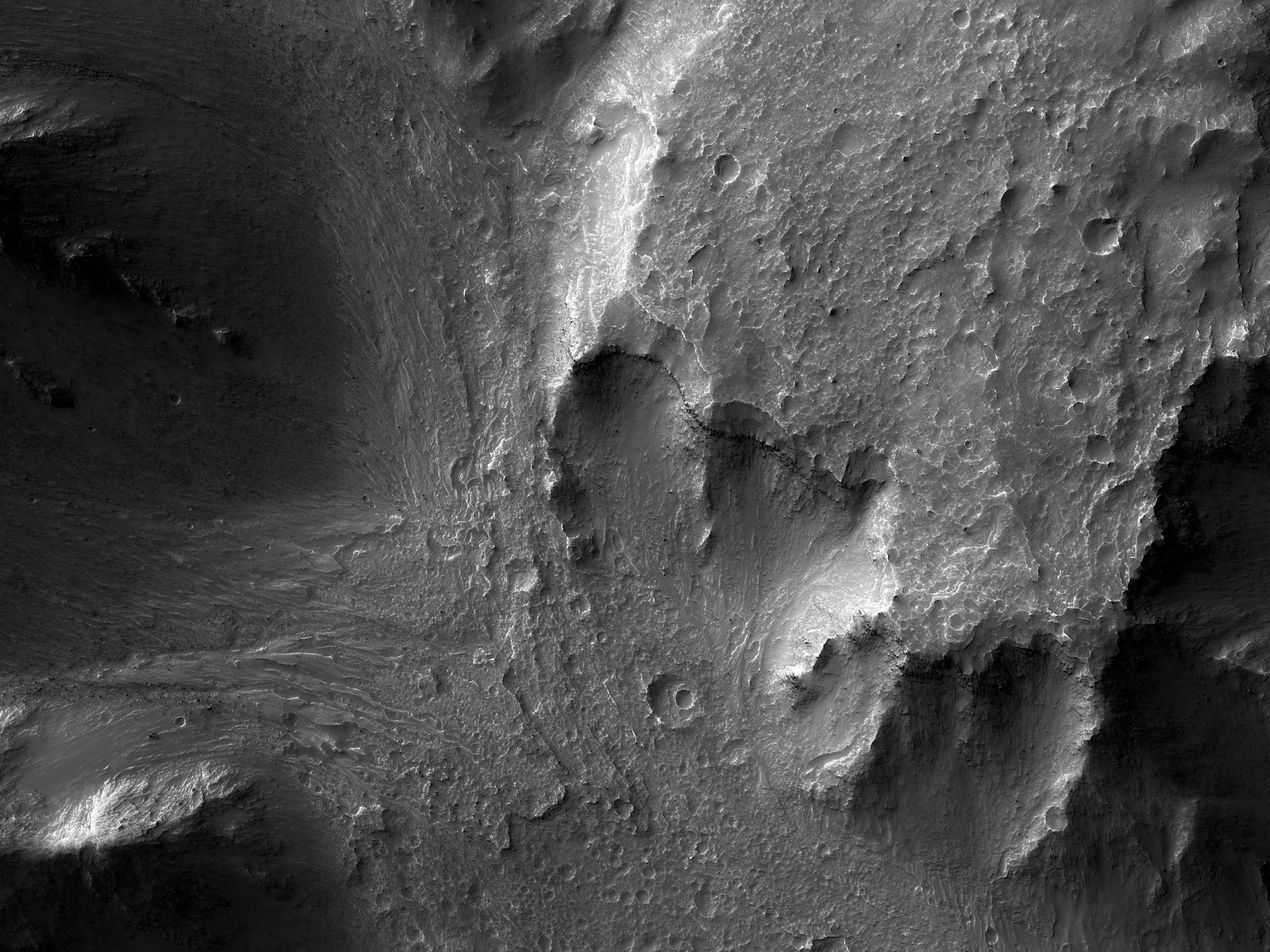 Ffynhonnell Llif Gweddillion yn Hydrae Chasma