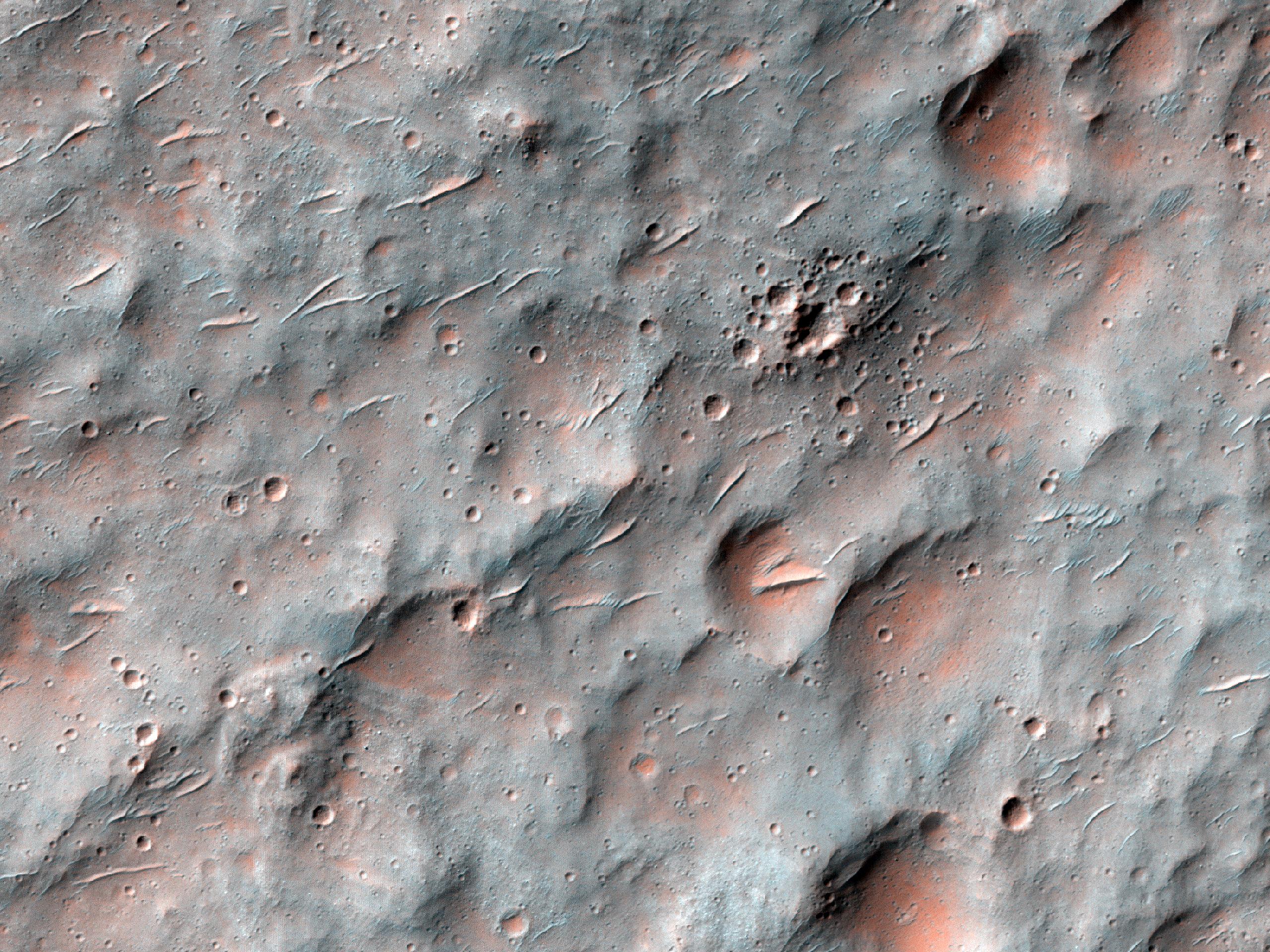 Possible Clay-Rich Terrain in Sedimentary Plain