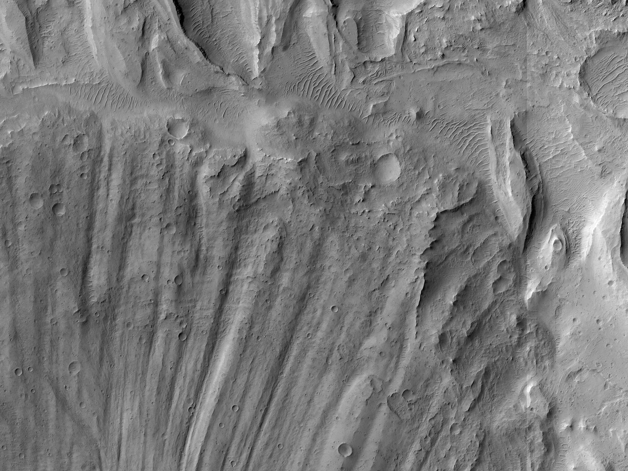 Fan, Meet Layered Deposit