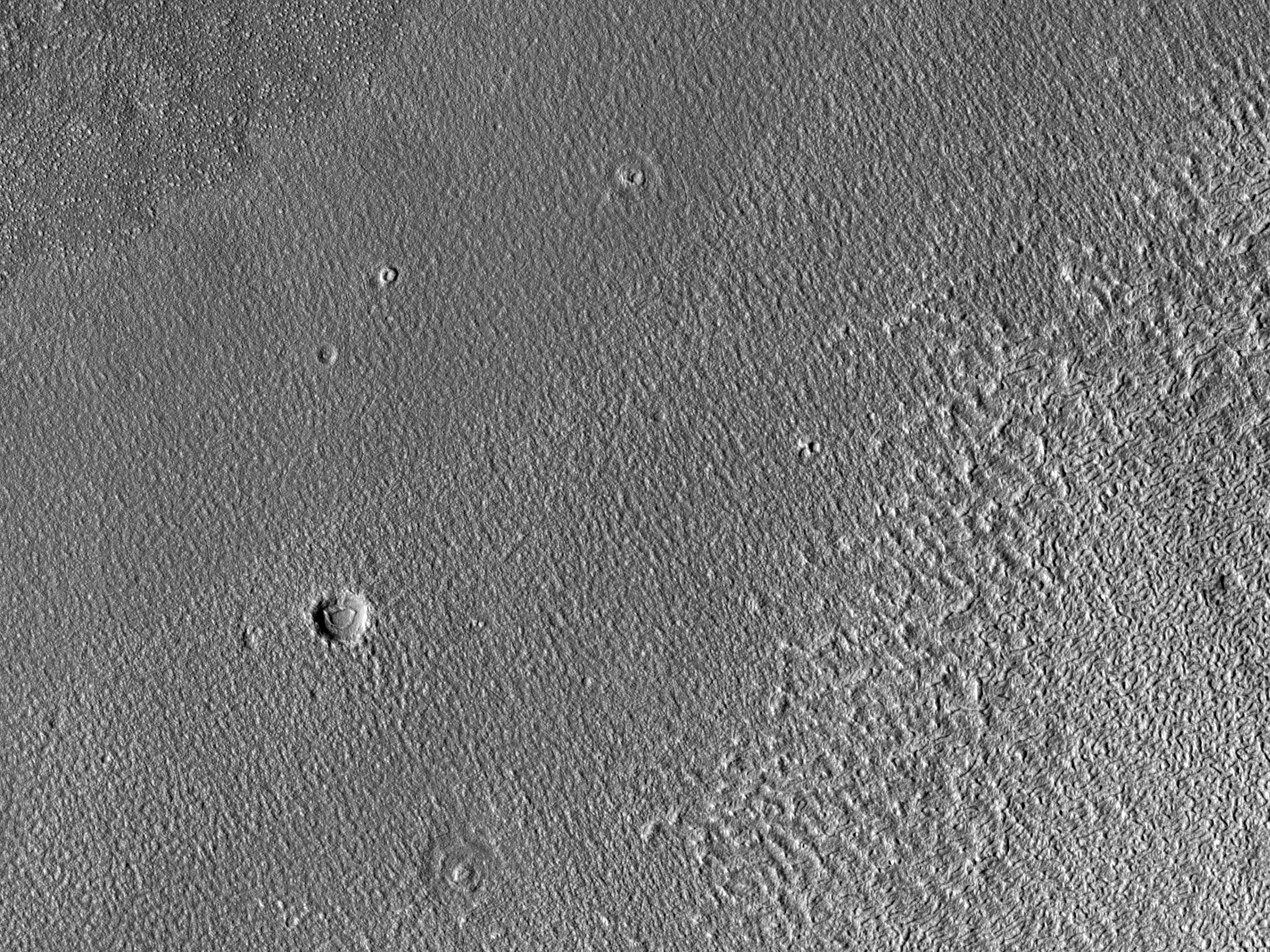 West of Erebus Montes