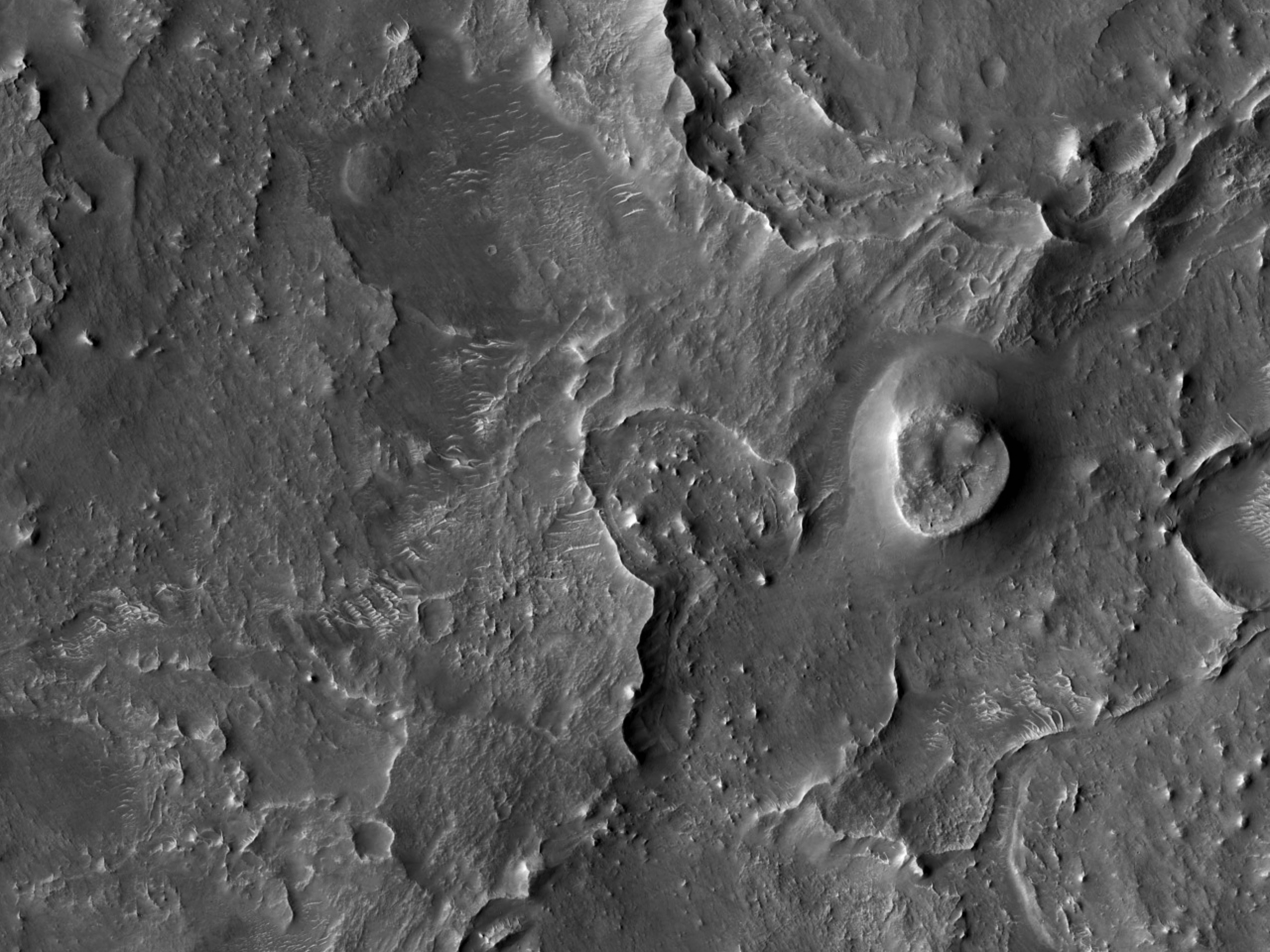 Ridges in Northeast Arabia Terra