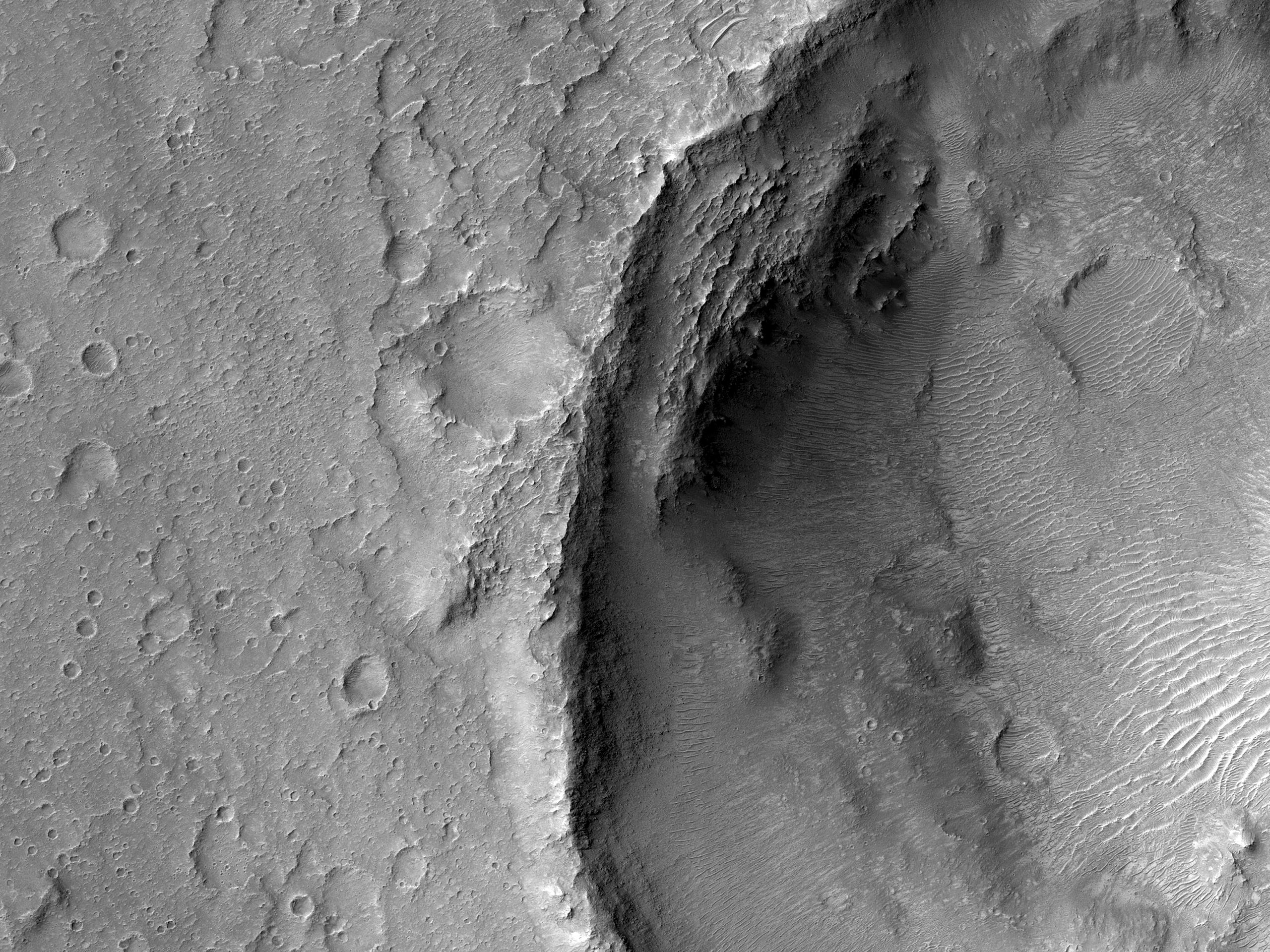 Gusev Crater Wind Streaks