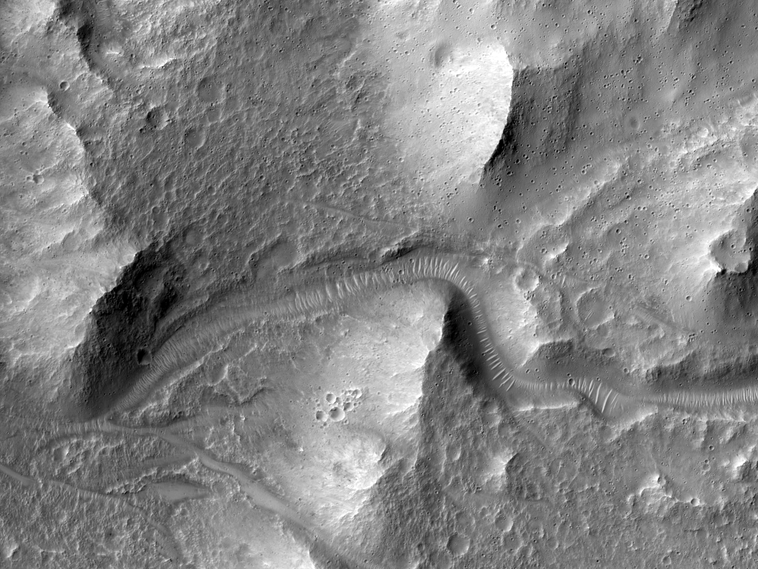 A Channel in the Southern Mid-Latitudes