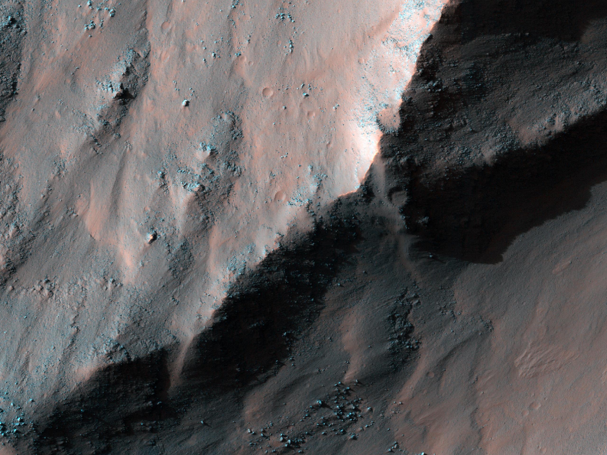 Western Coprates Chasma Massif