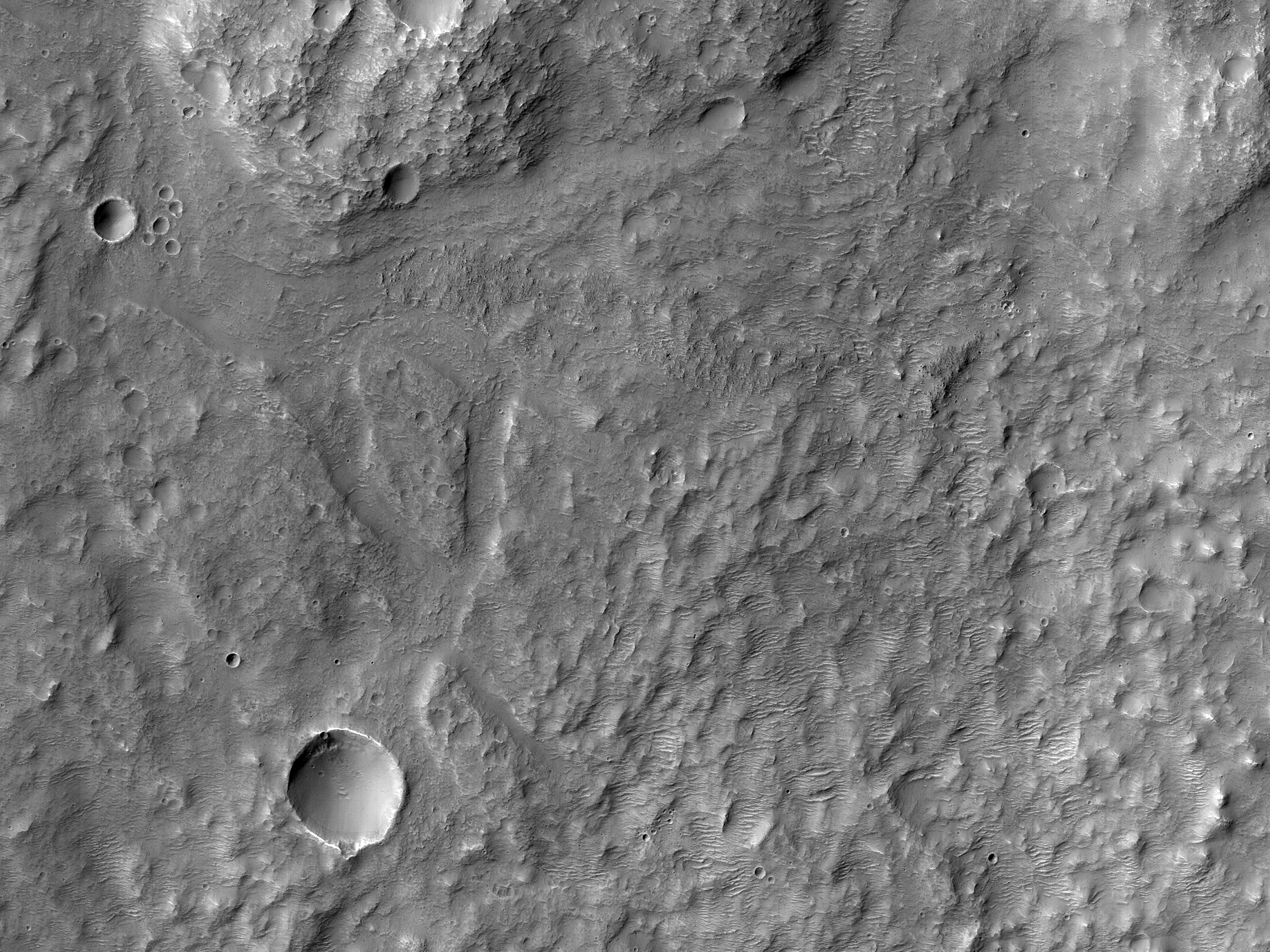 Near Anseris Mons