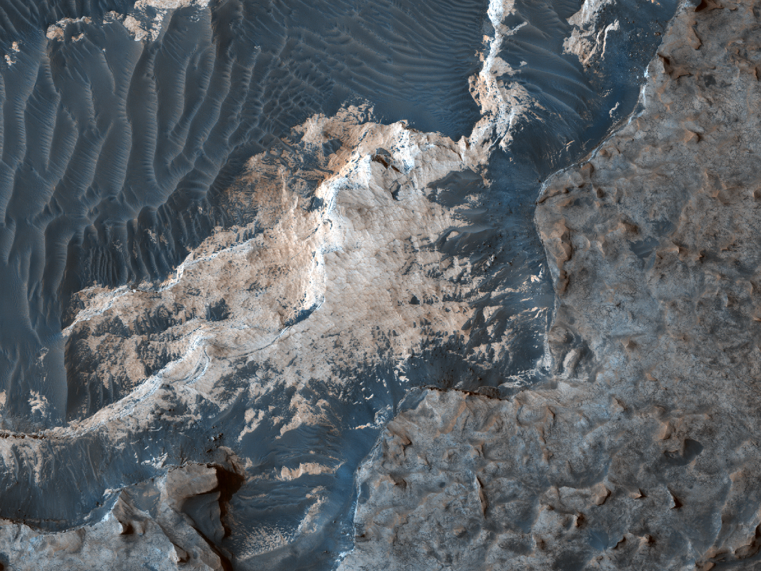 Slope Monitoring in Etched Terrain
