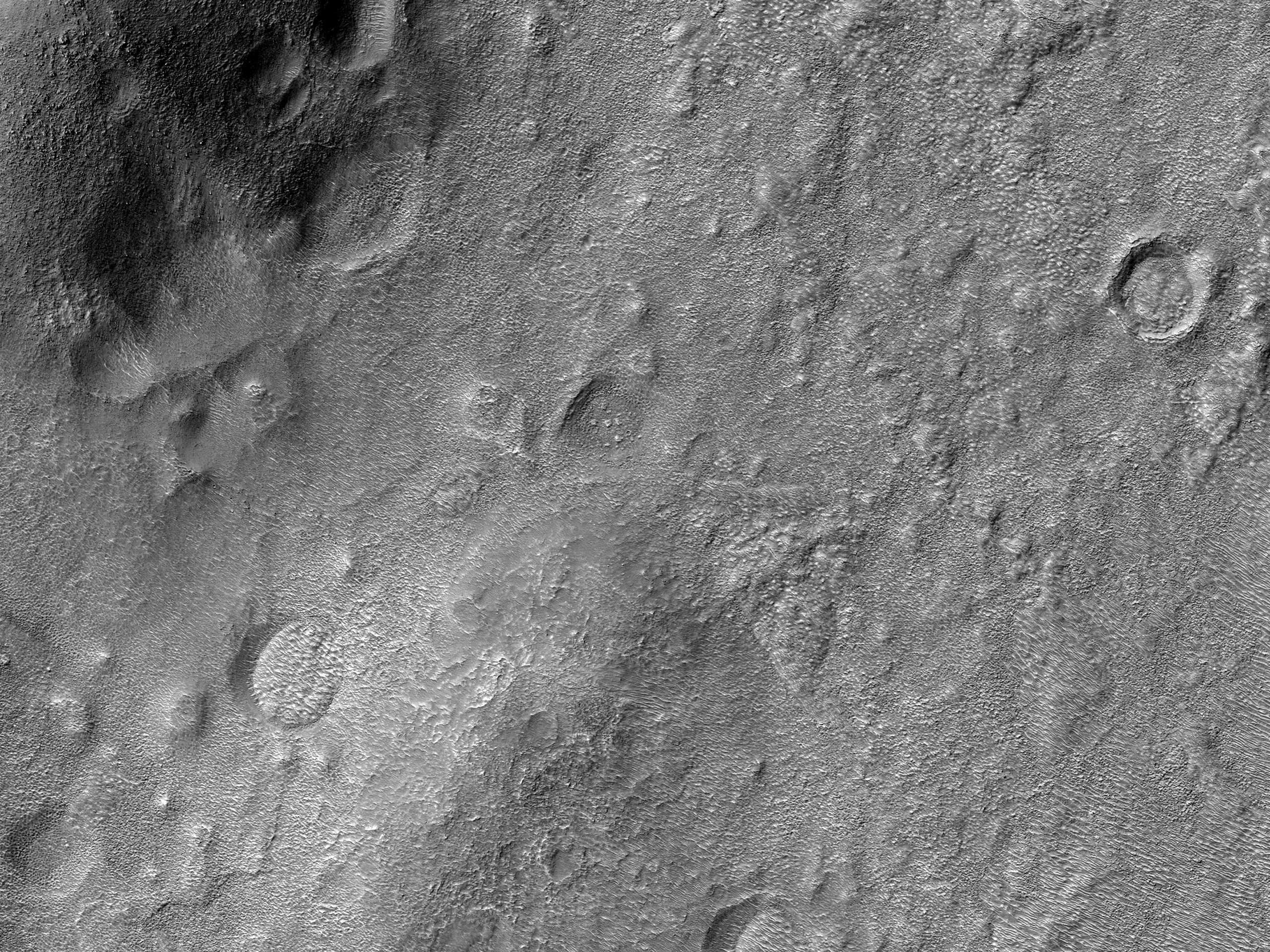 Southeast Hale Crater Ejecta