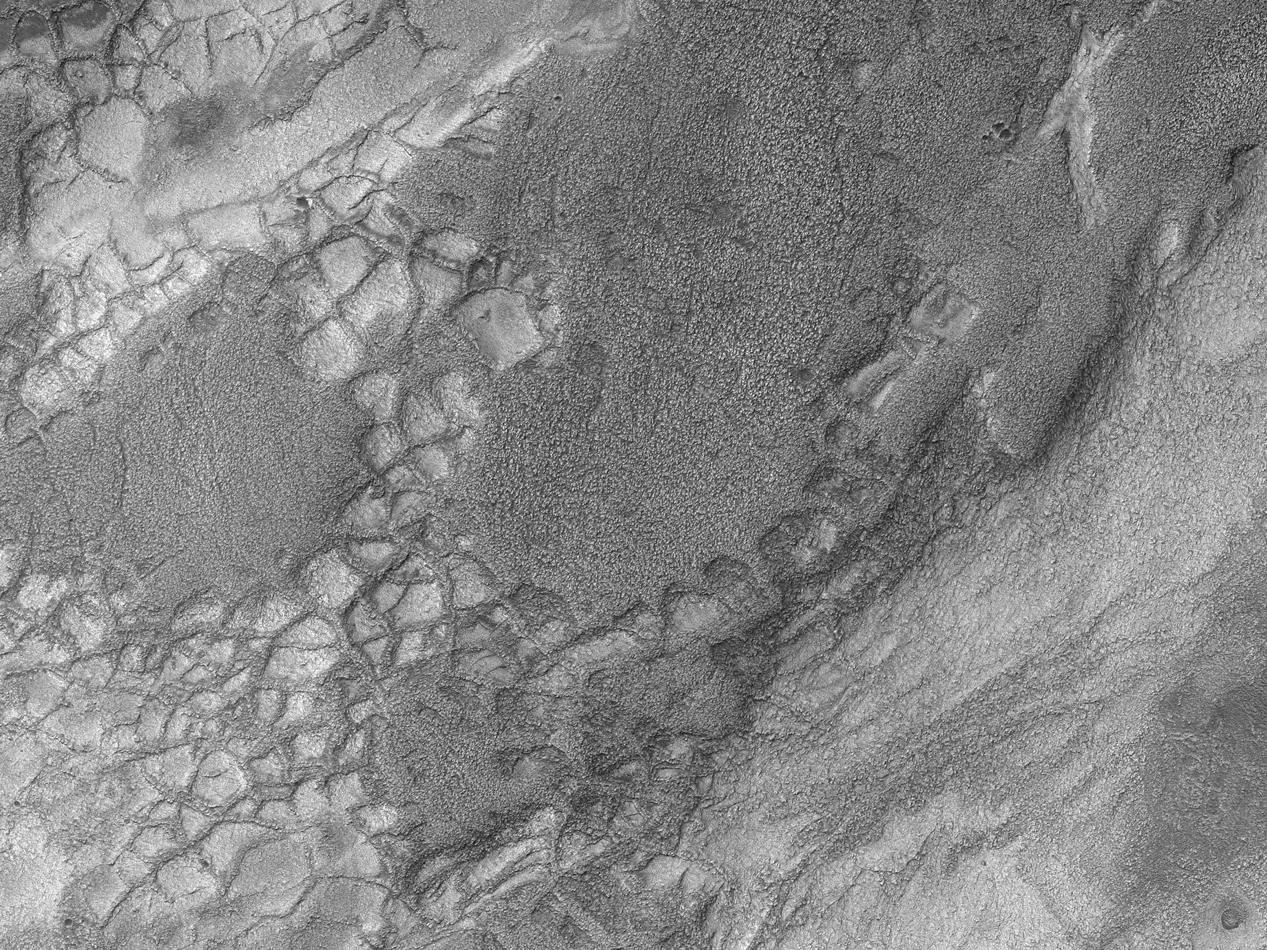 A Ridge Network in Hellas Planitia