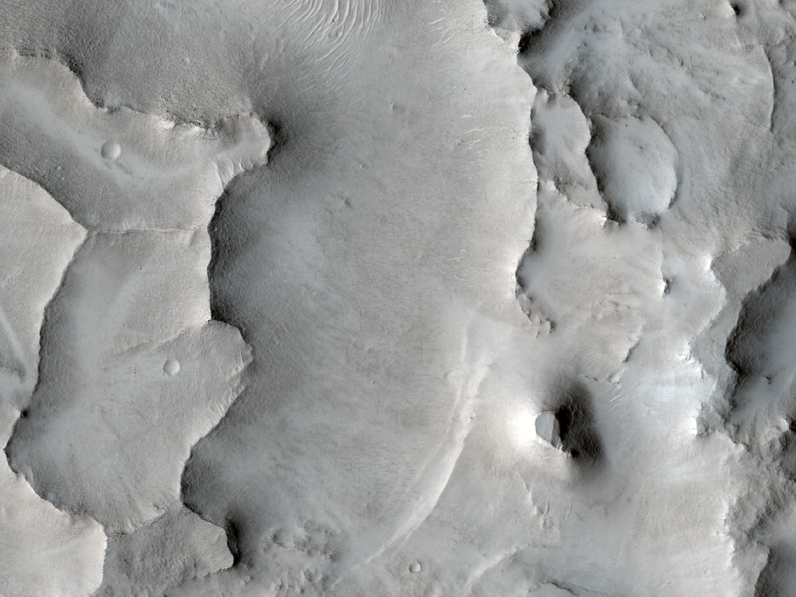 Layers West of Huo Hsing Vallis