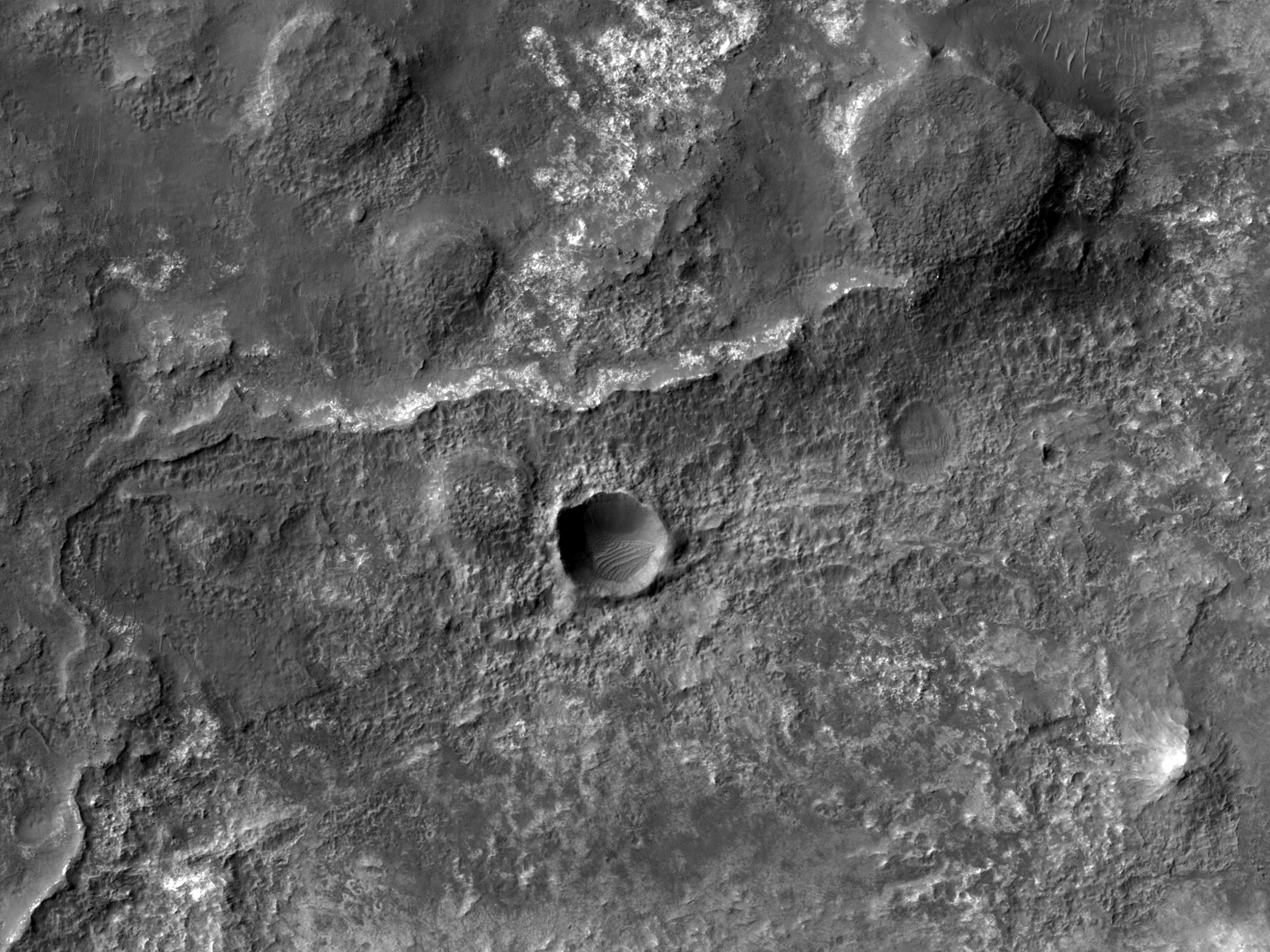 Inverted Channels in the Eridania Region