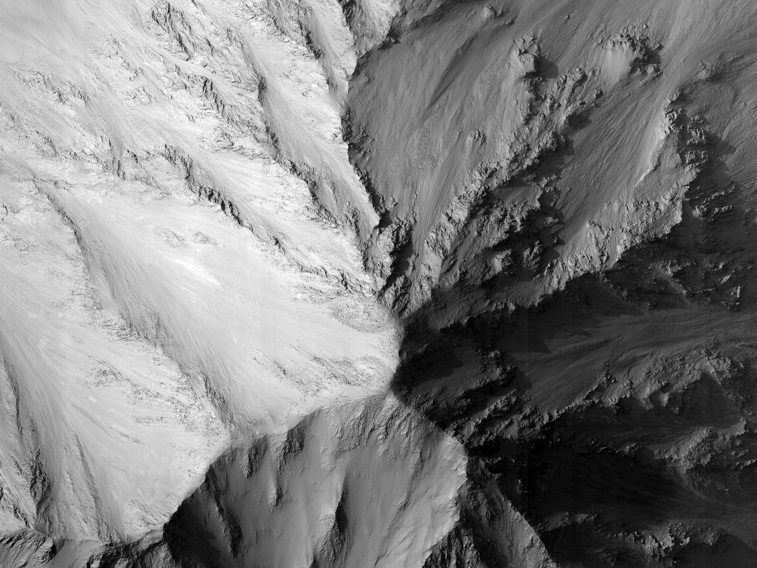 Monitor Slopes in Capri Chasma