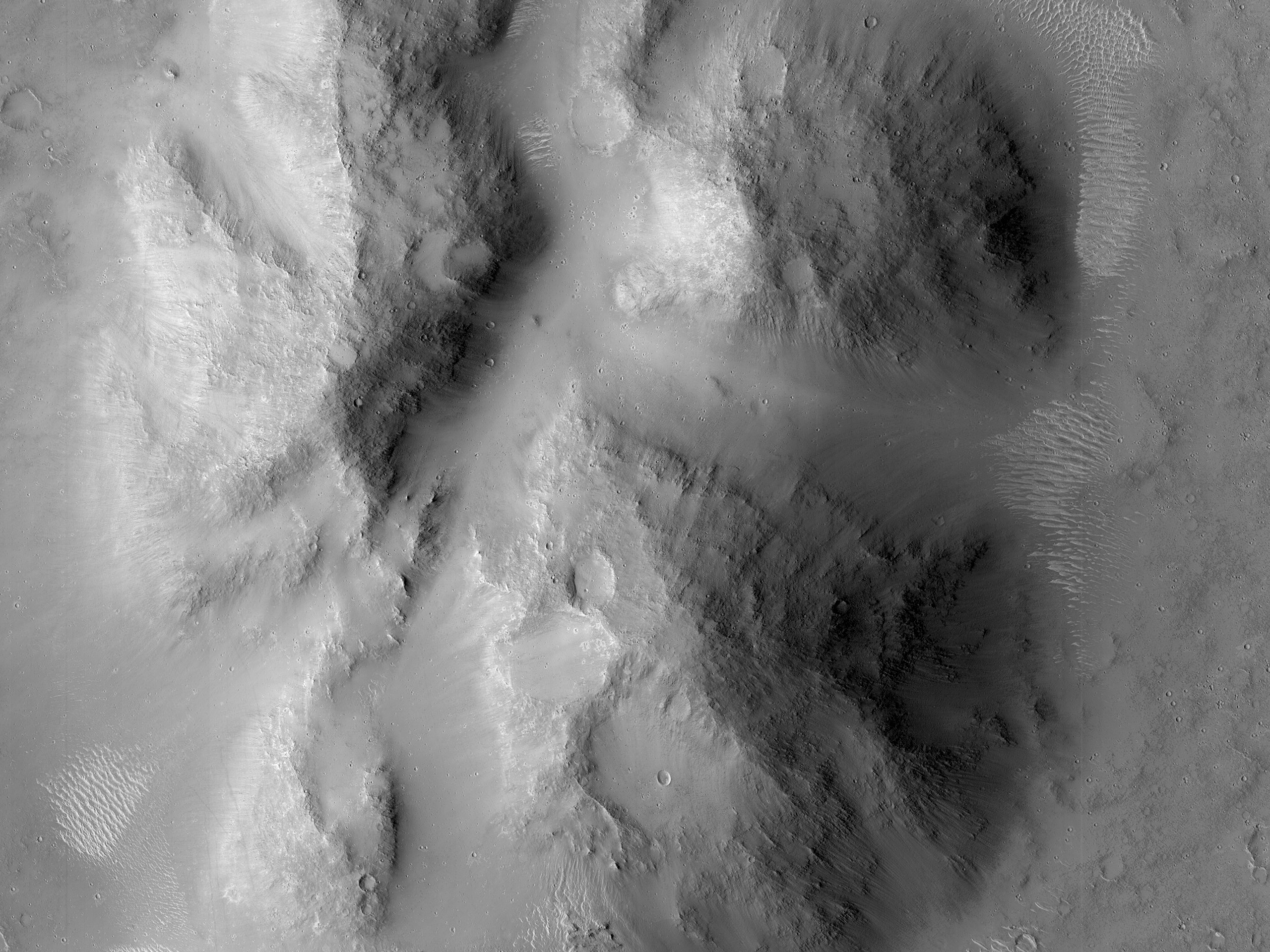 Clustered Mounds