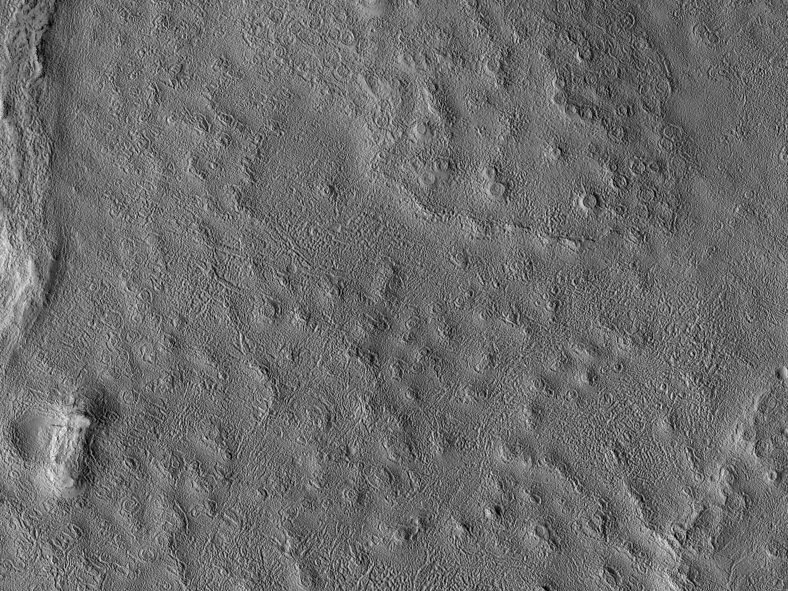 Terrain in the Phlegra Region