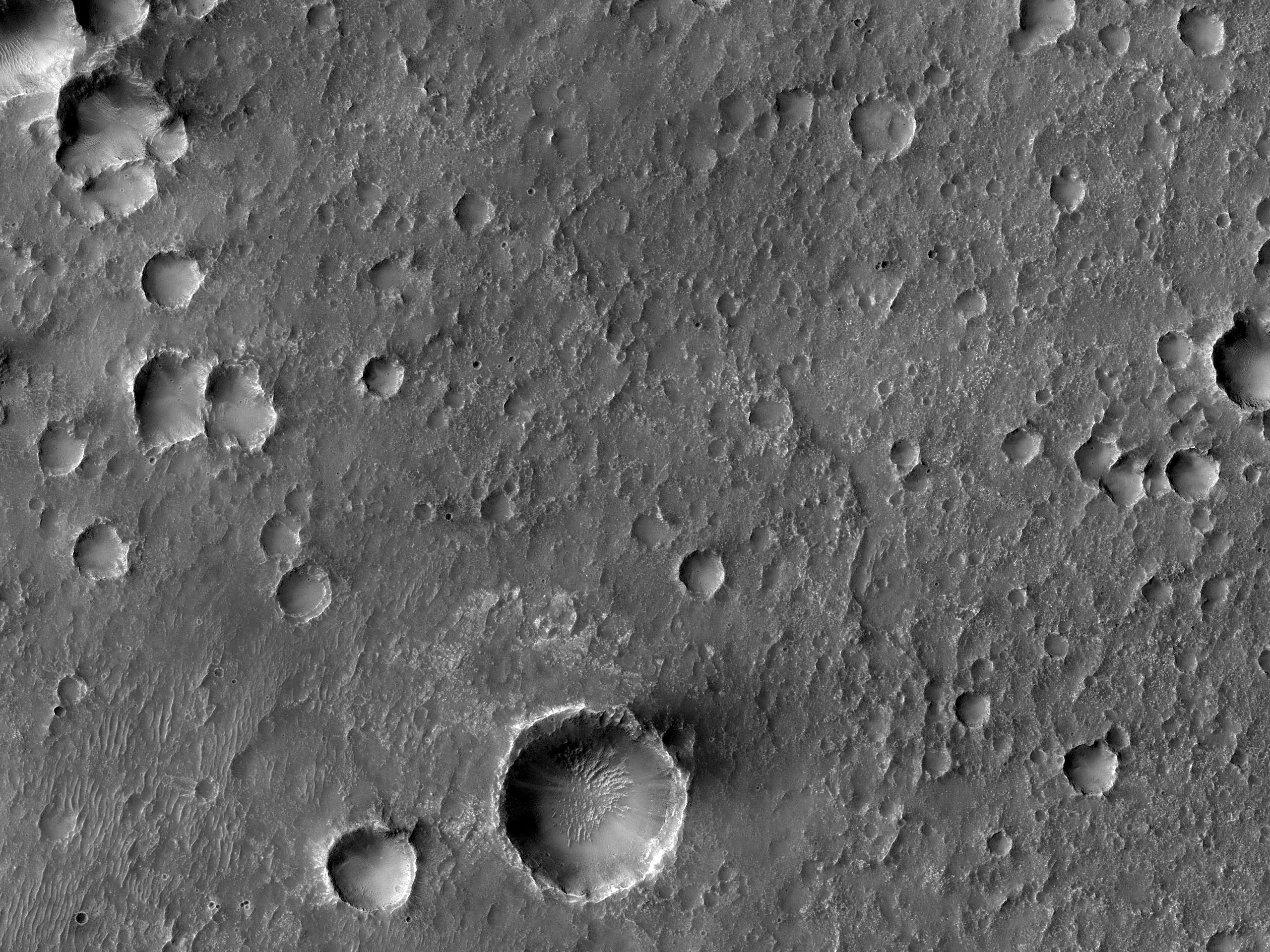 Chlorides and Craters