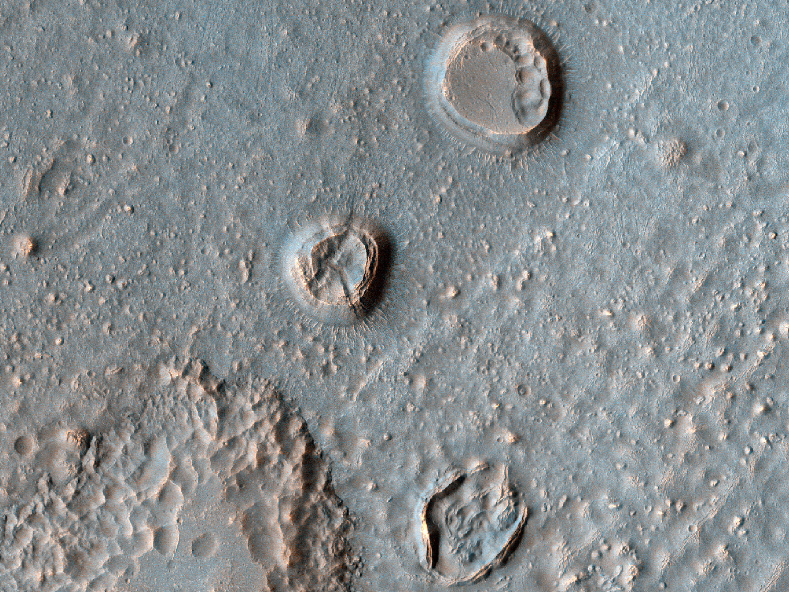 Crater Floor Mounds