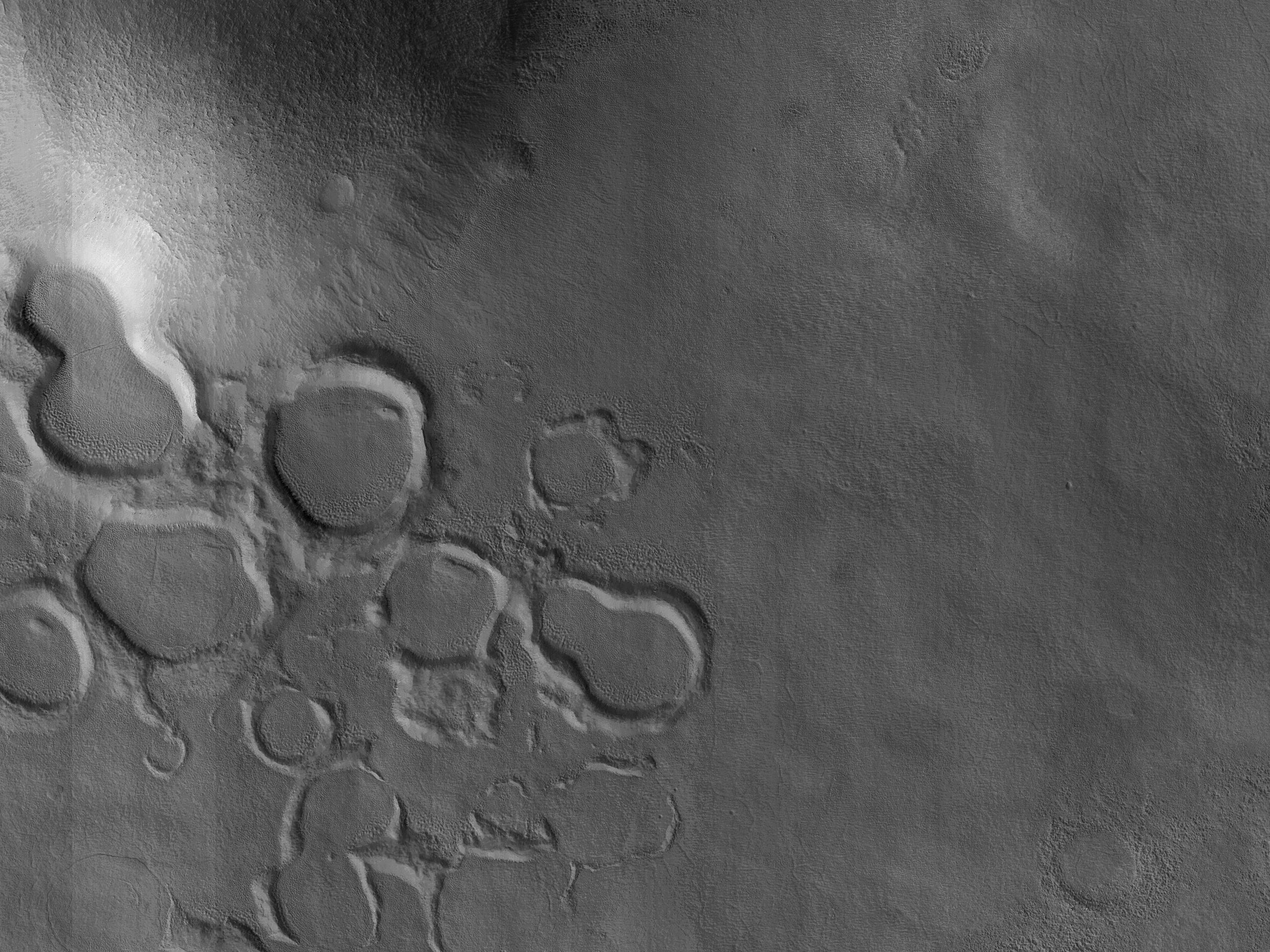 Remembrance of Craters Past