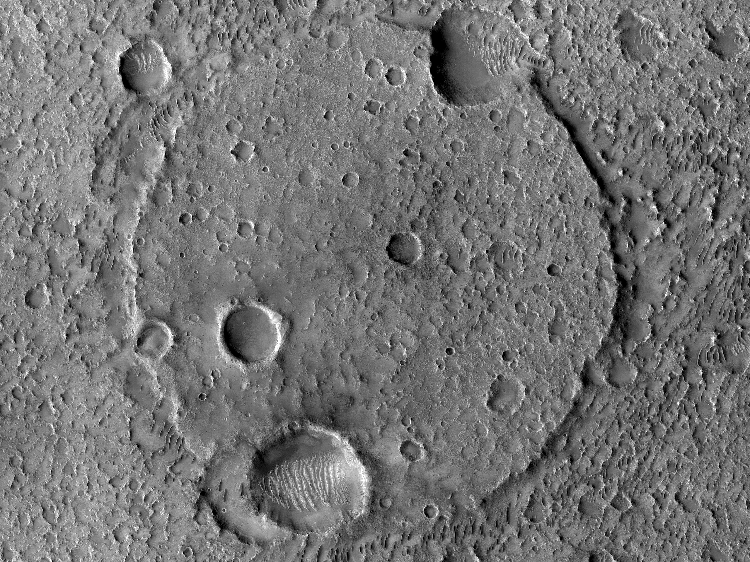 The Floor of Flaugergues Crater