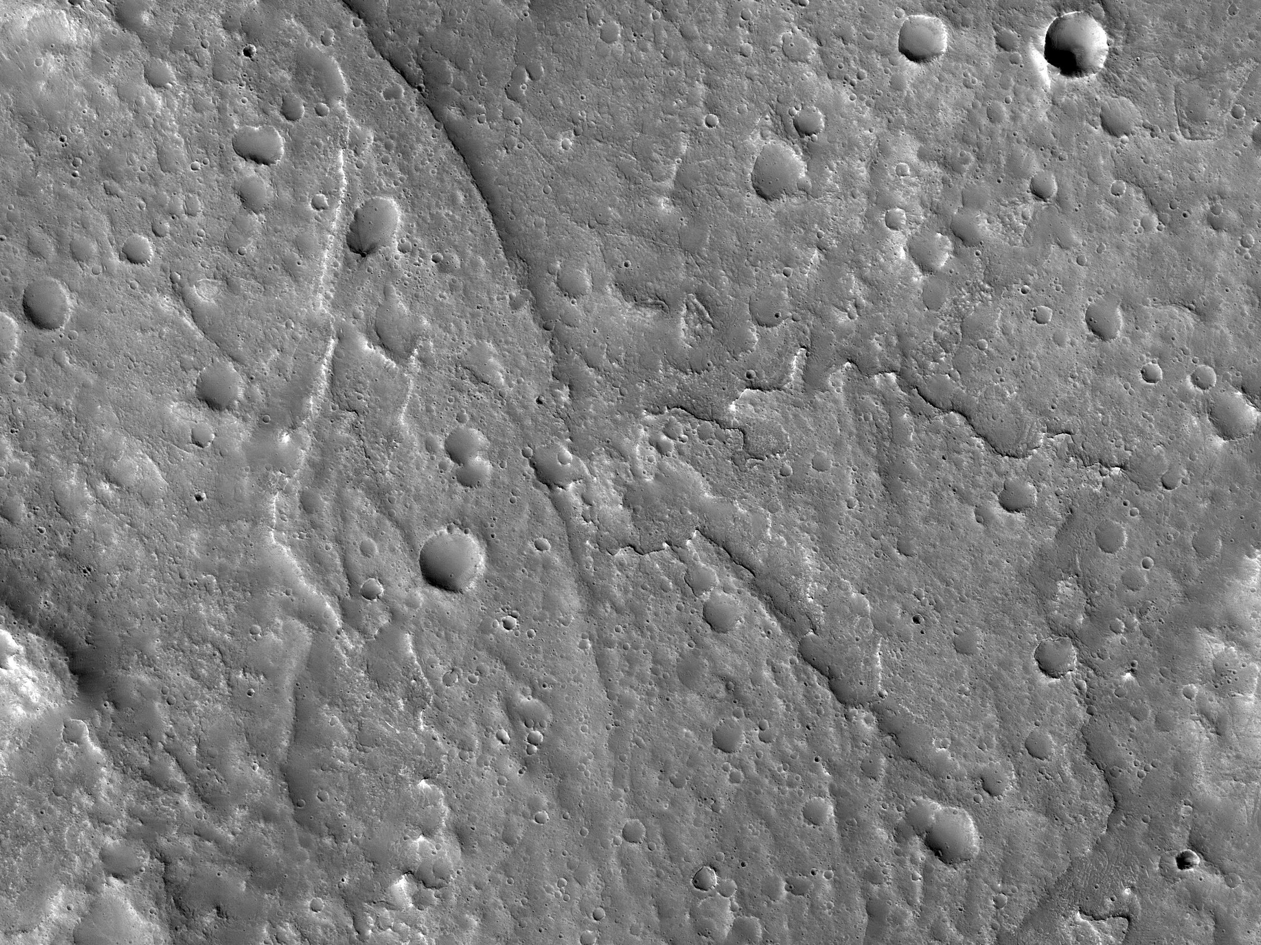 An Inverted Channel West of Idaeus Fossae