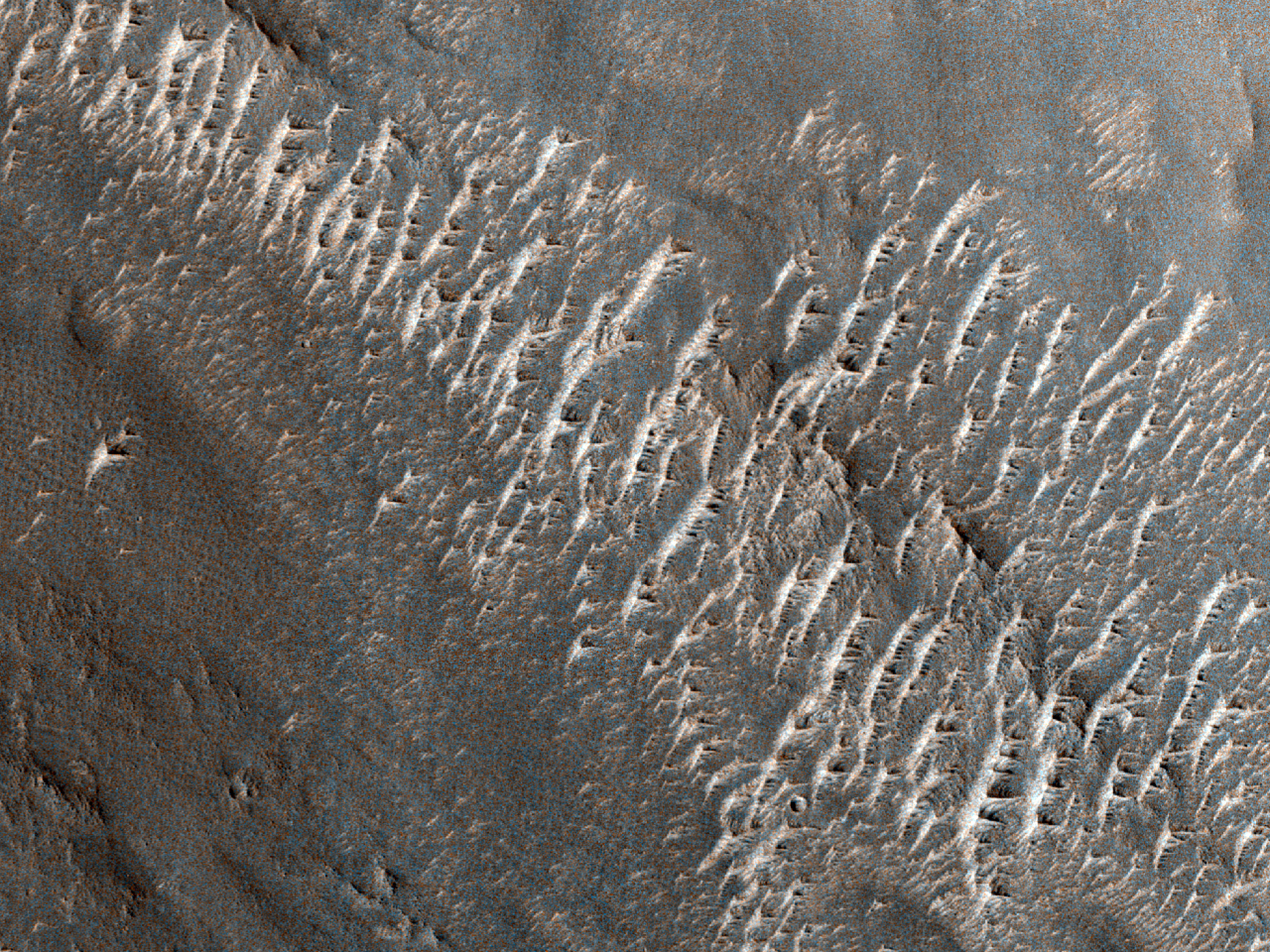 Valley in Eastern Arabia Terra