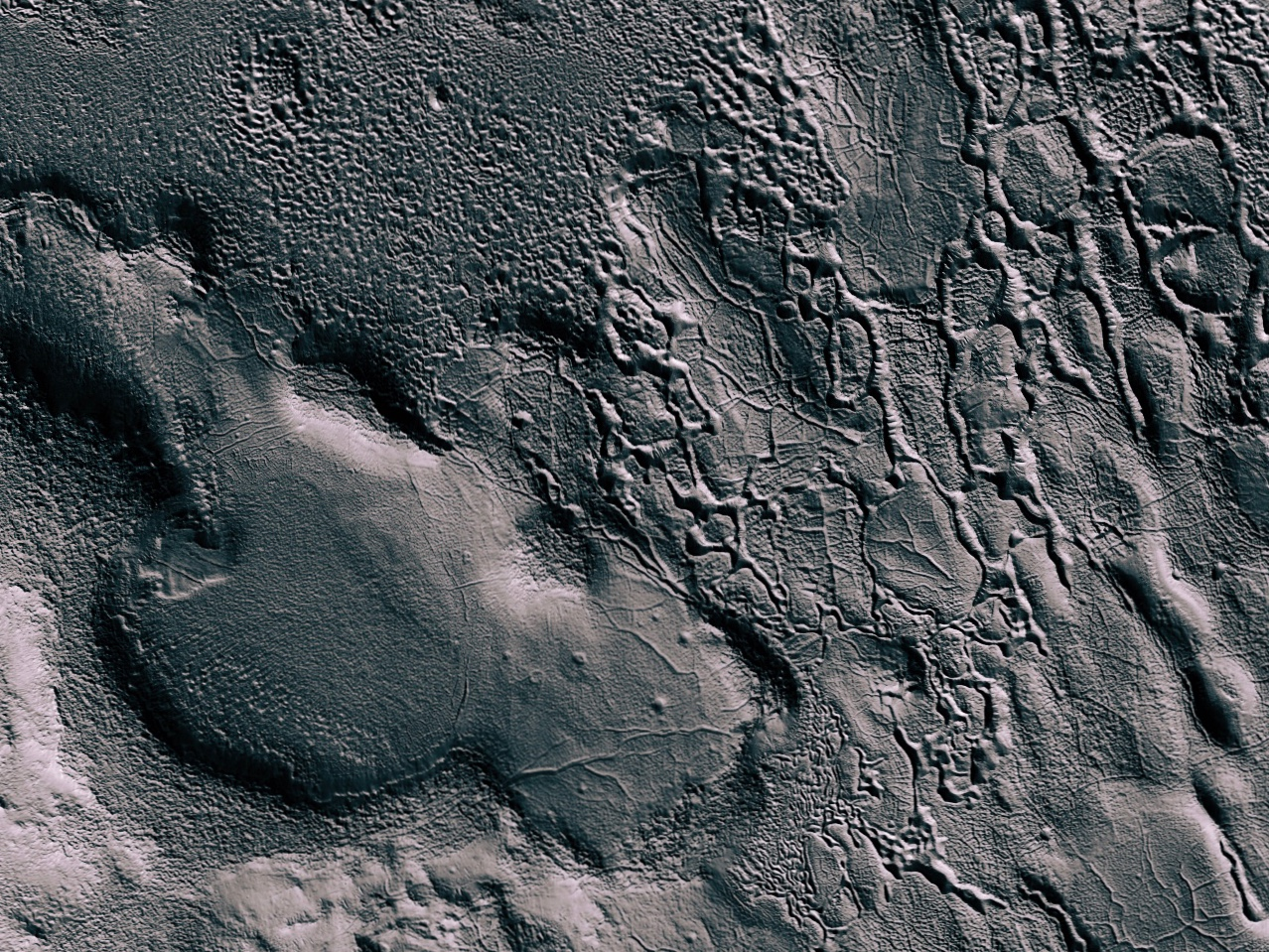 Erosion in North Arabia Terra