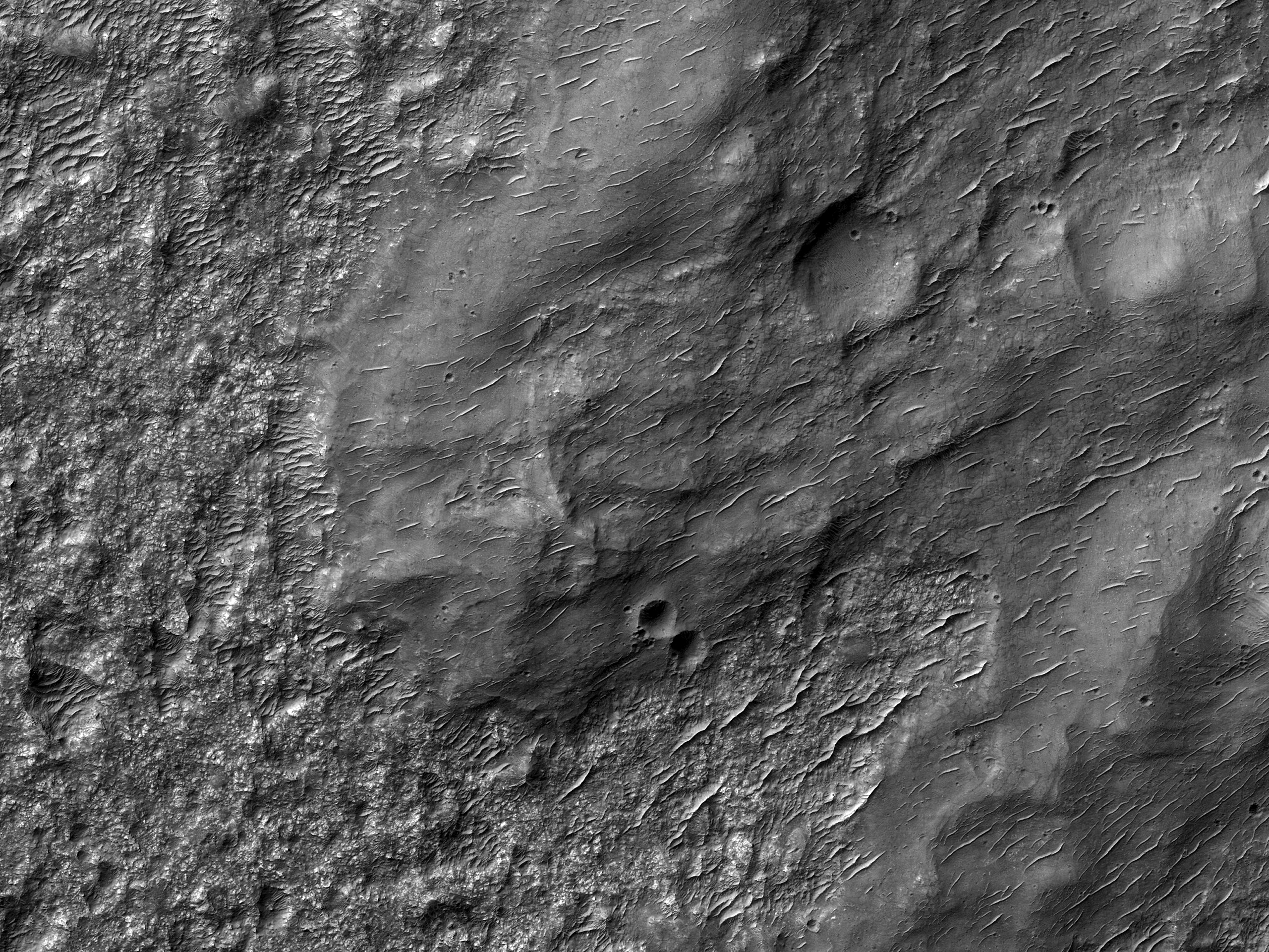 Ejecta on the Plains