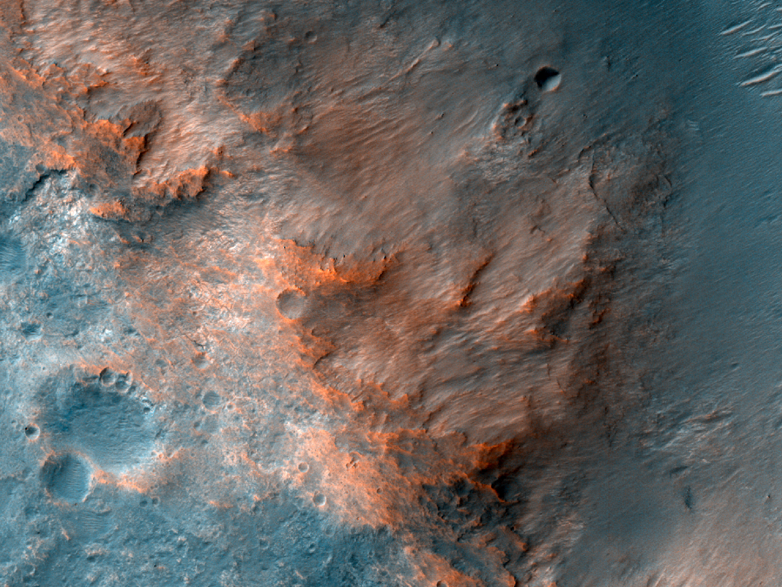 Geologic Contacts near Coogoon Valles