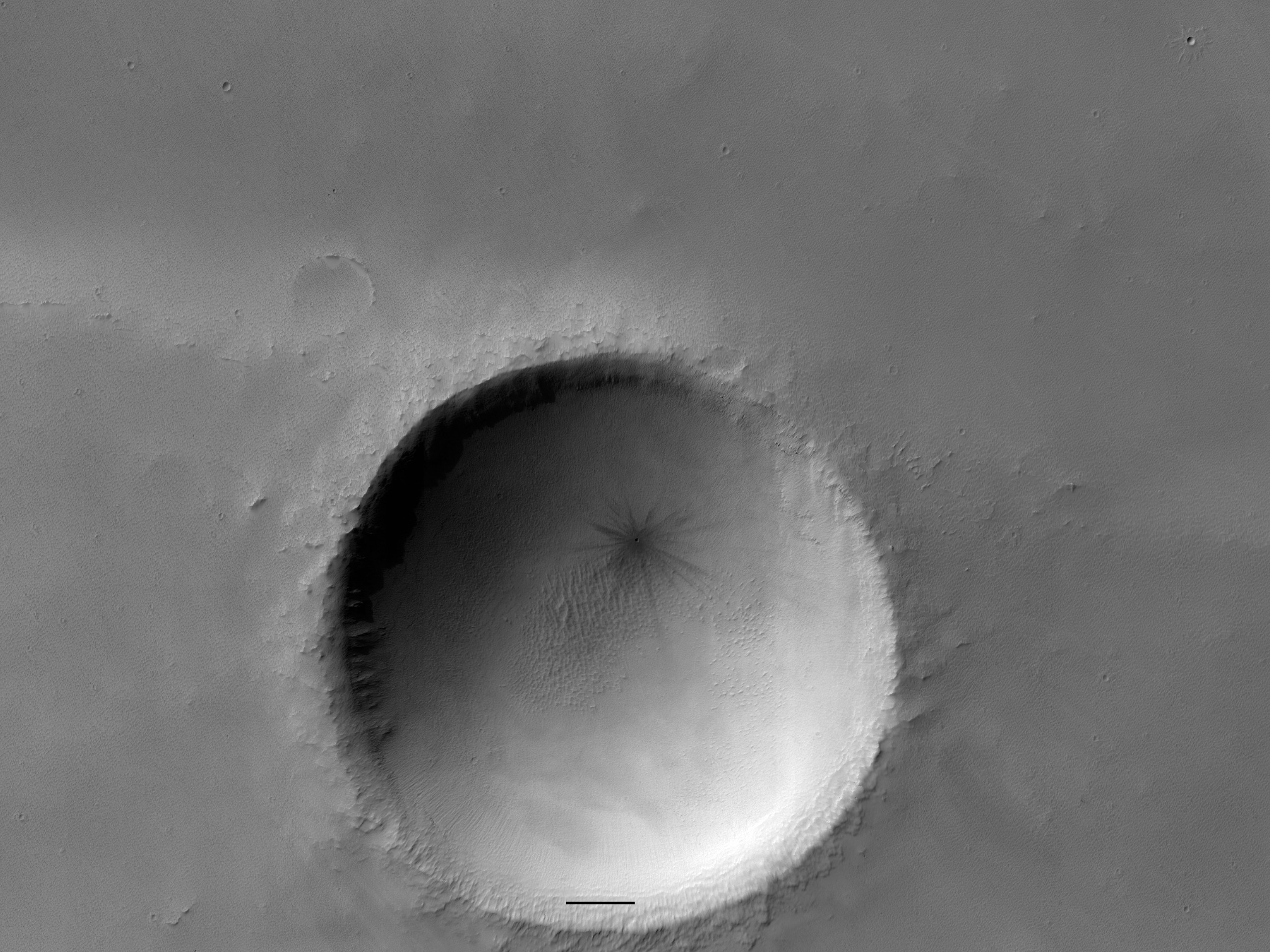 The Crater That Winked