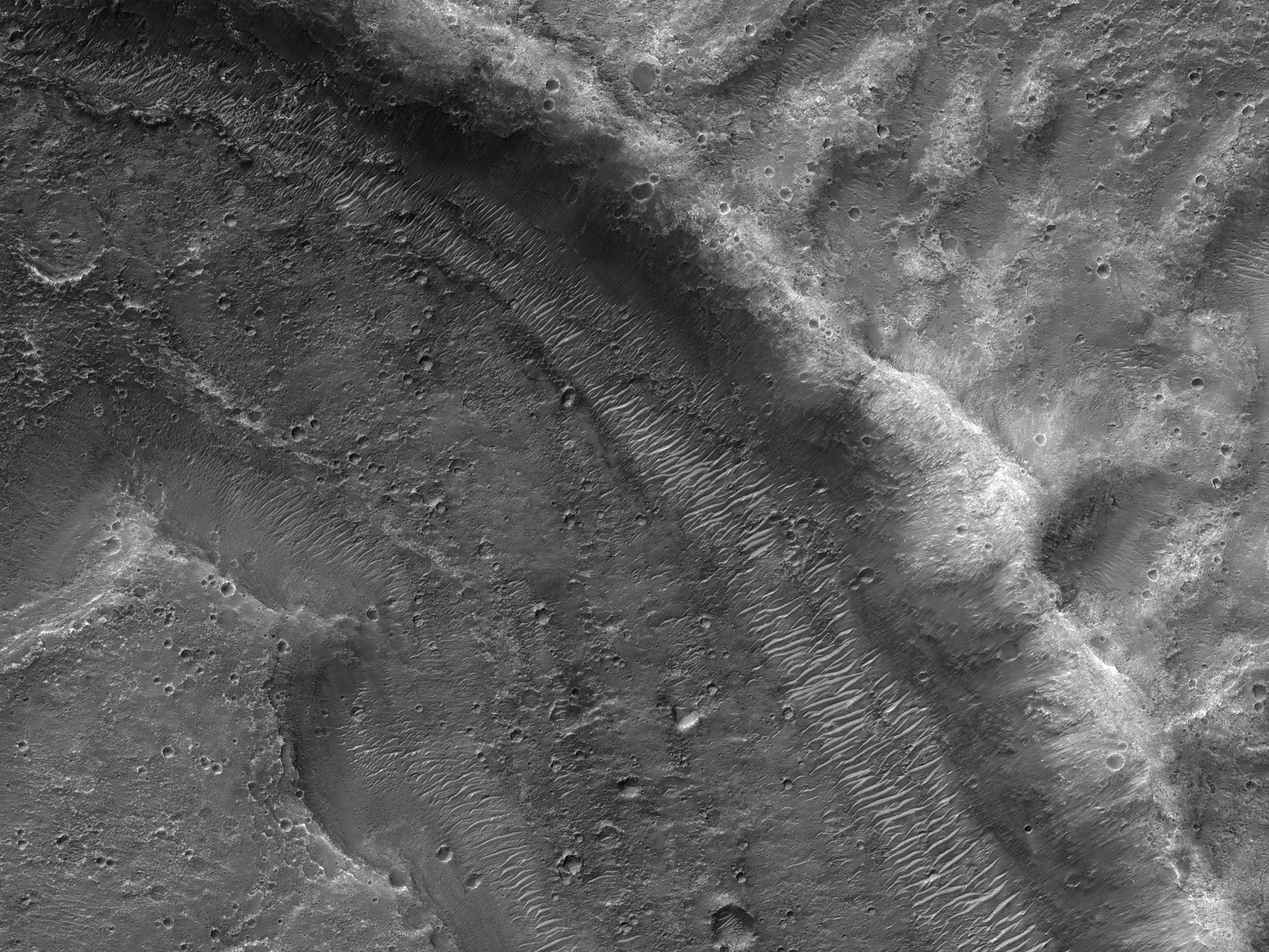 Depressions near Coogoon Valles