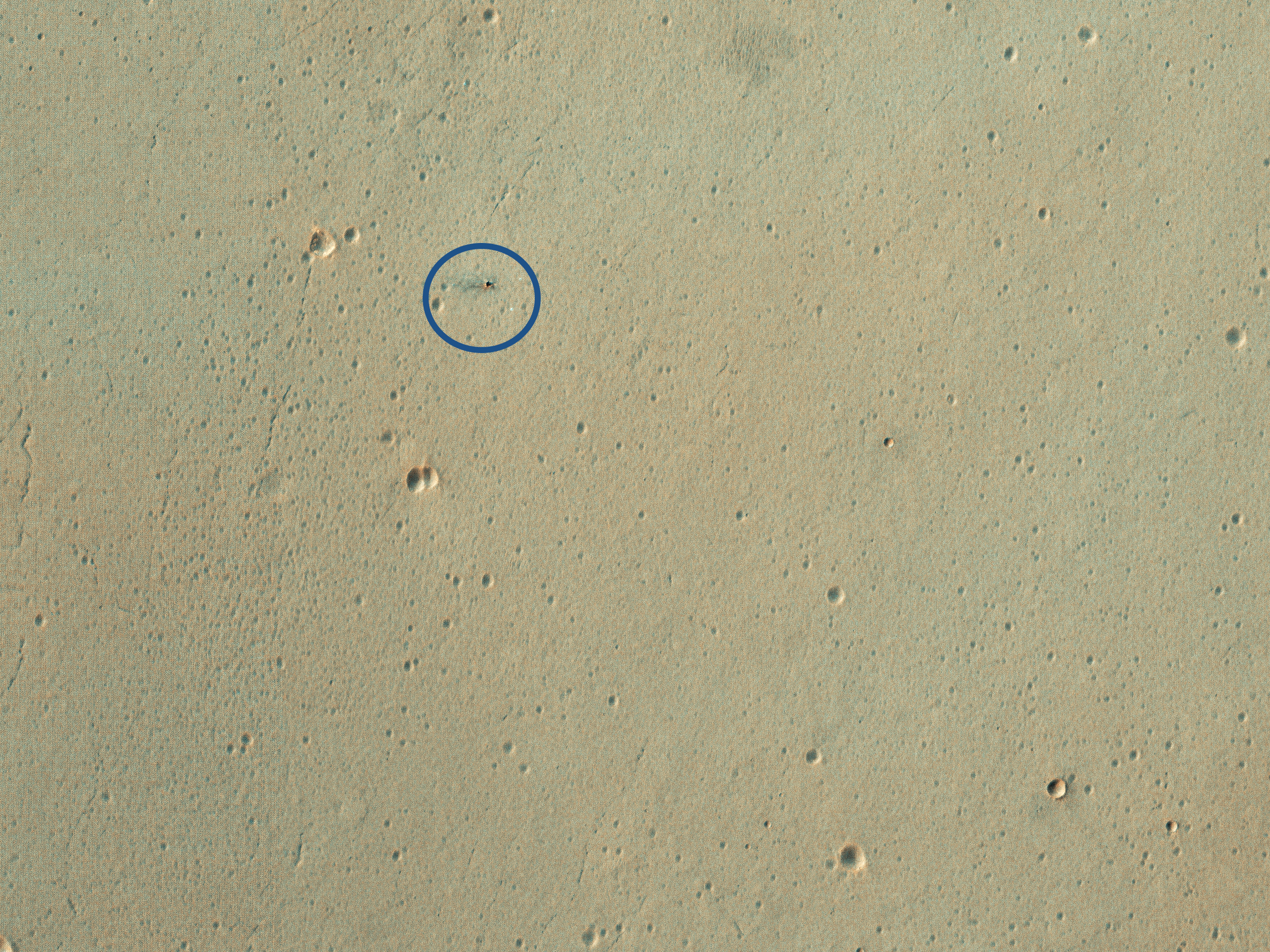 The Schiaparelli Crash Site