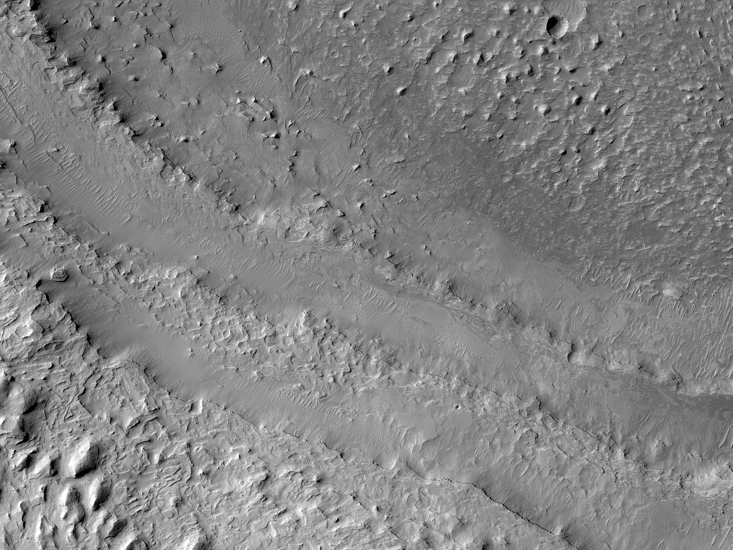 Layering in the Medusae Fossae Formation