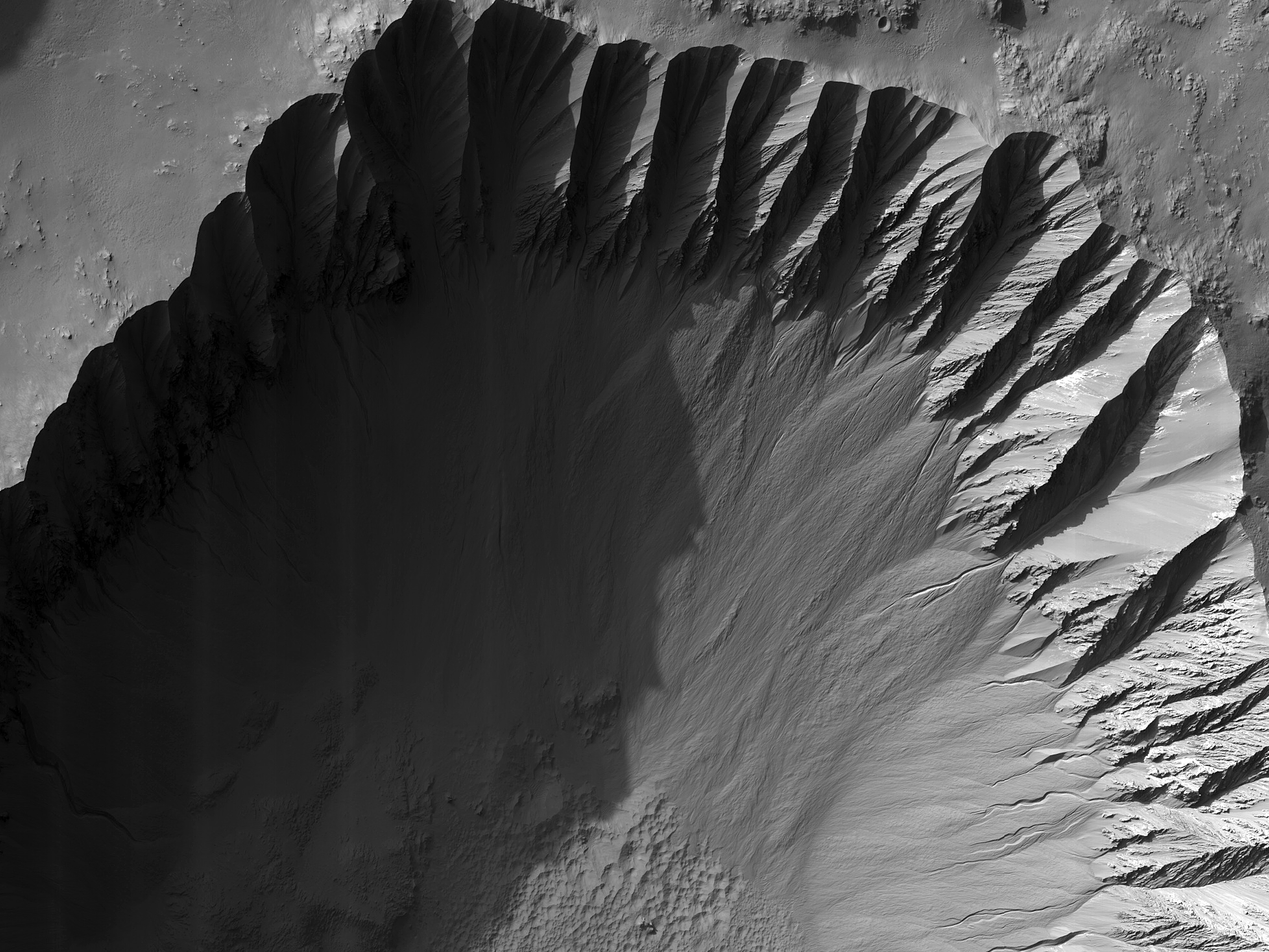 Gasa Crater Gully Monitoring