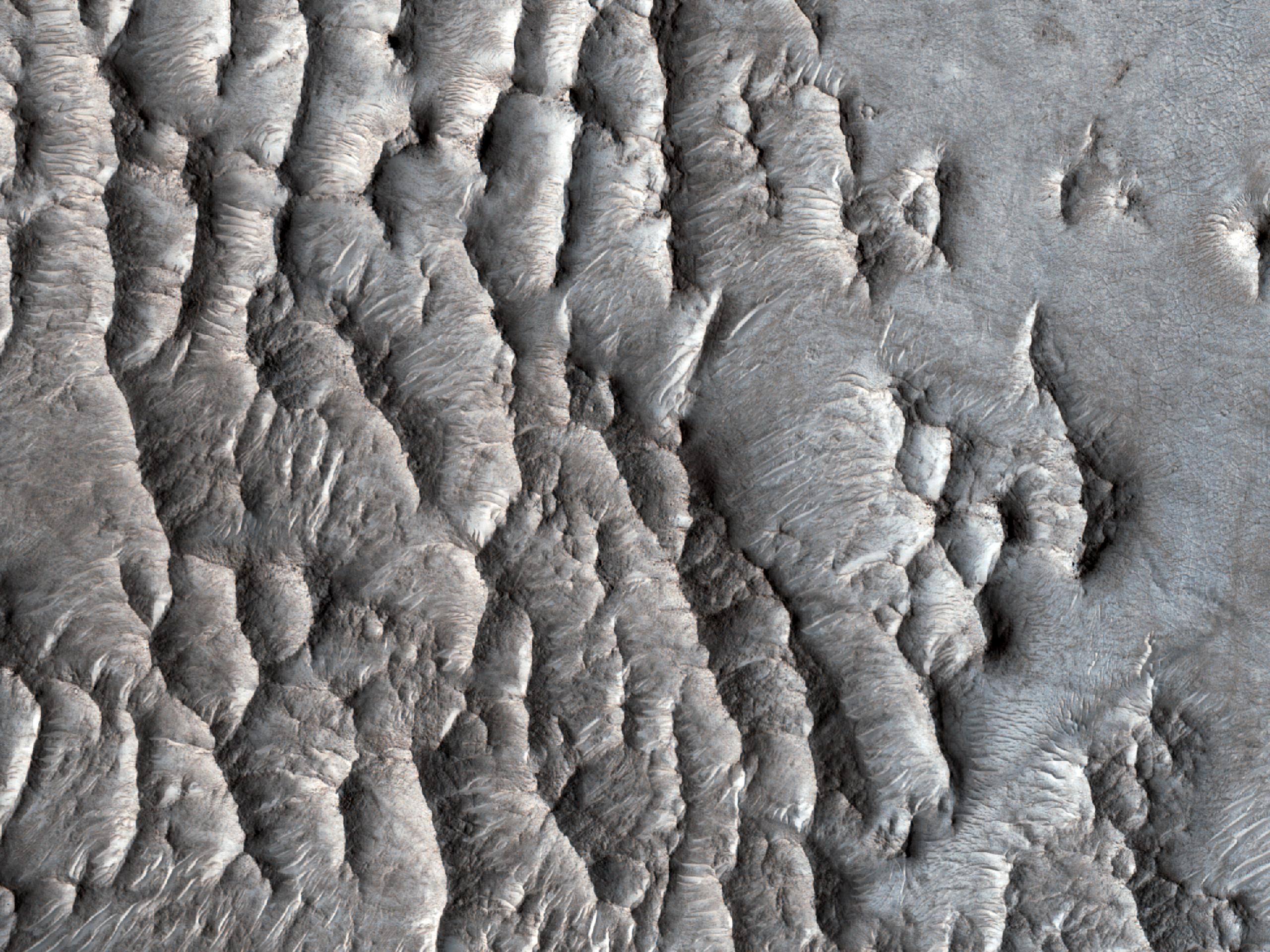 Impact Structure in Eastern Arabia Terra