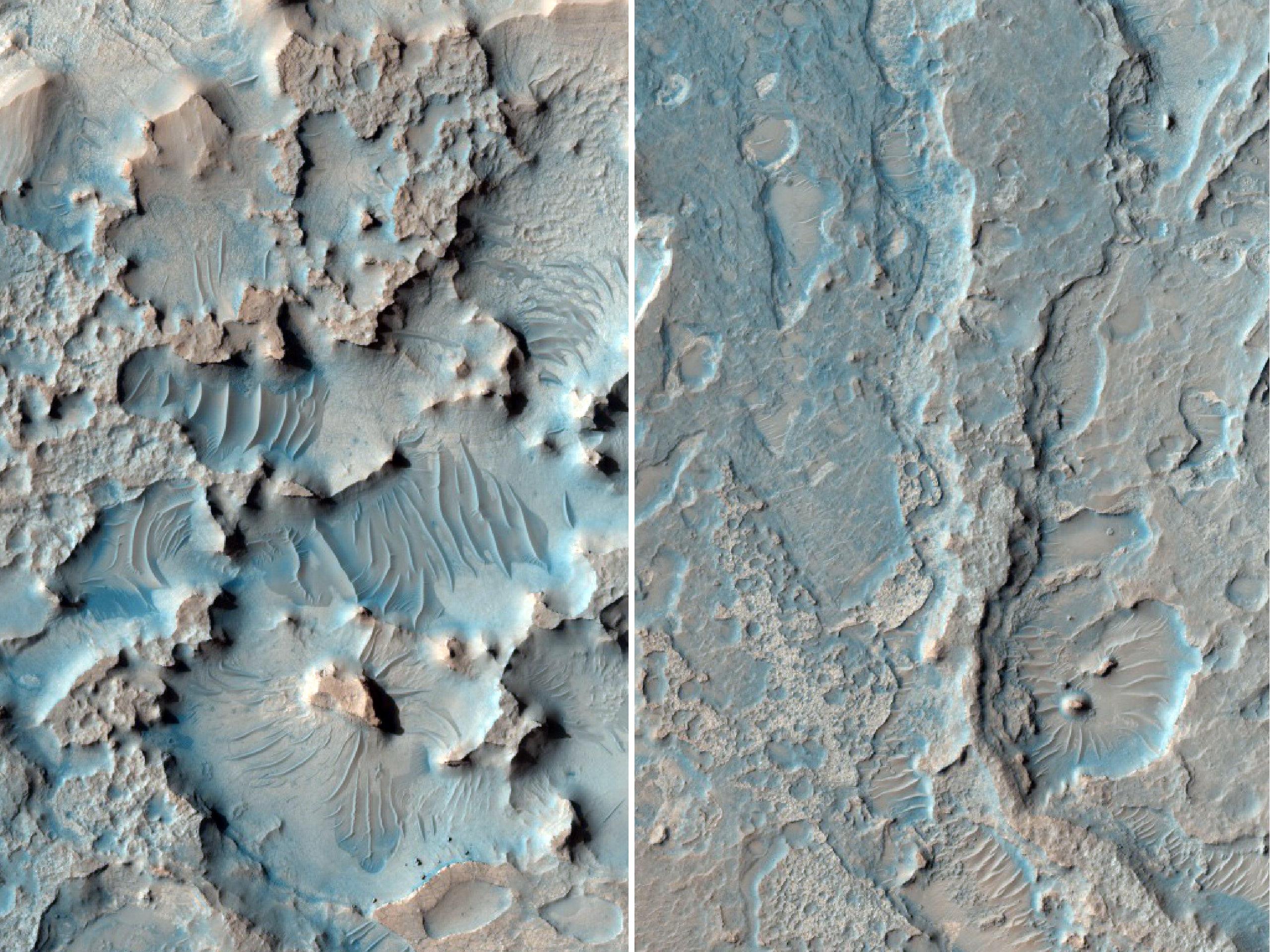 Wind Sculptures of Mars