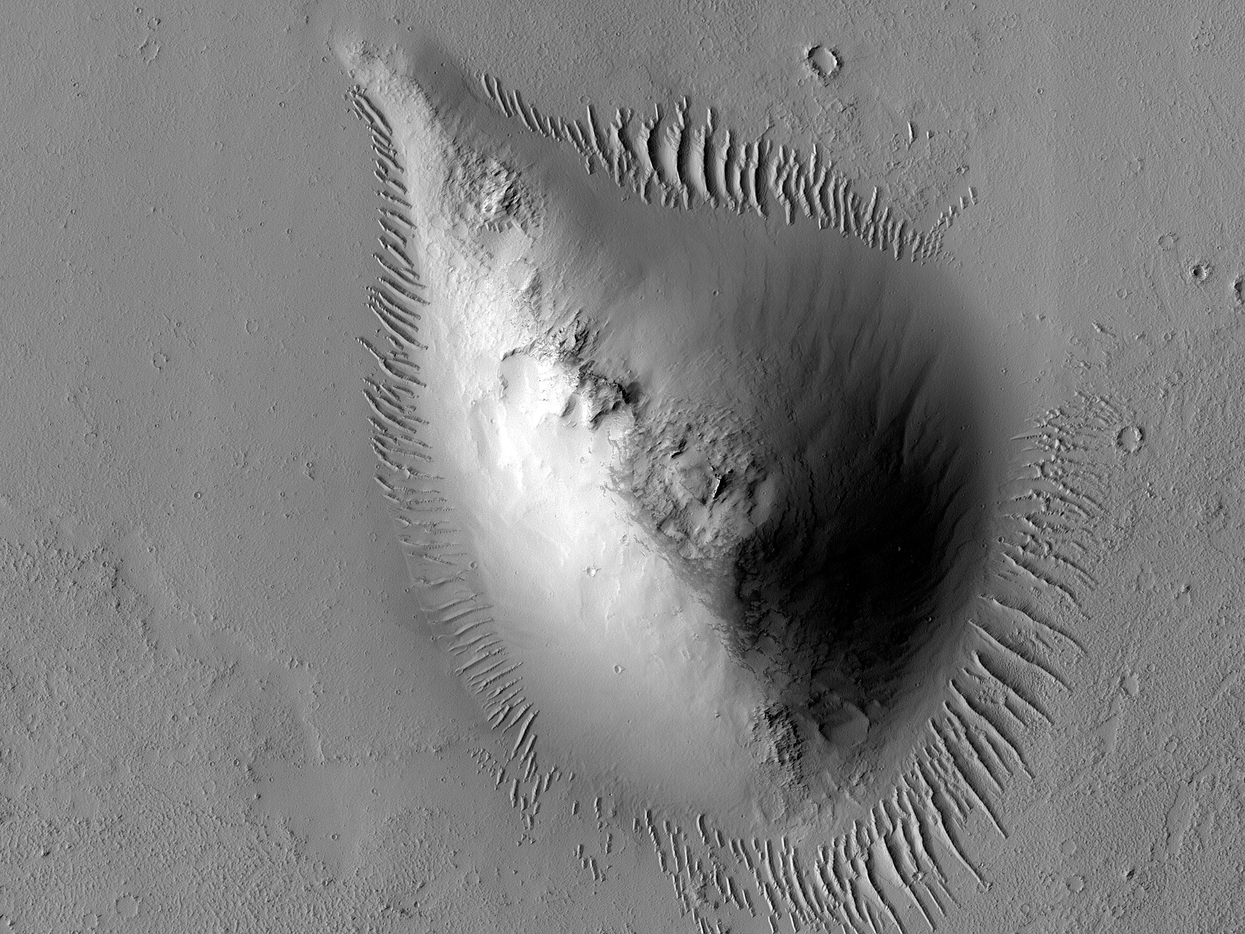 A Cone Close to Noctis Fossae